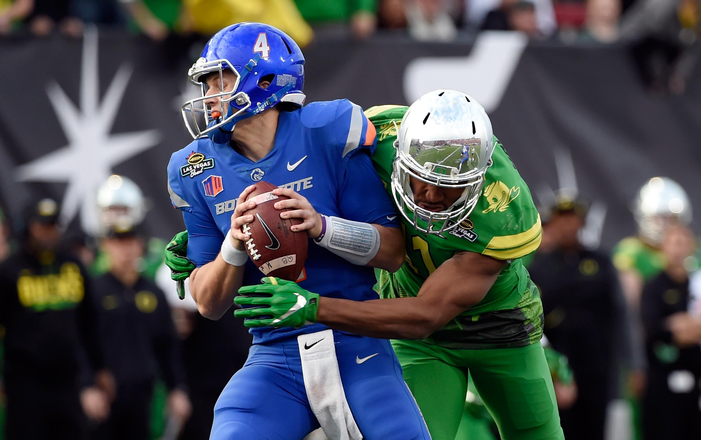 Las Vegas Bowl - Boise State v Oregon