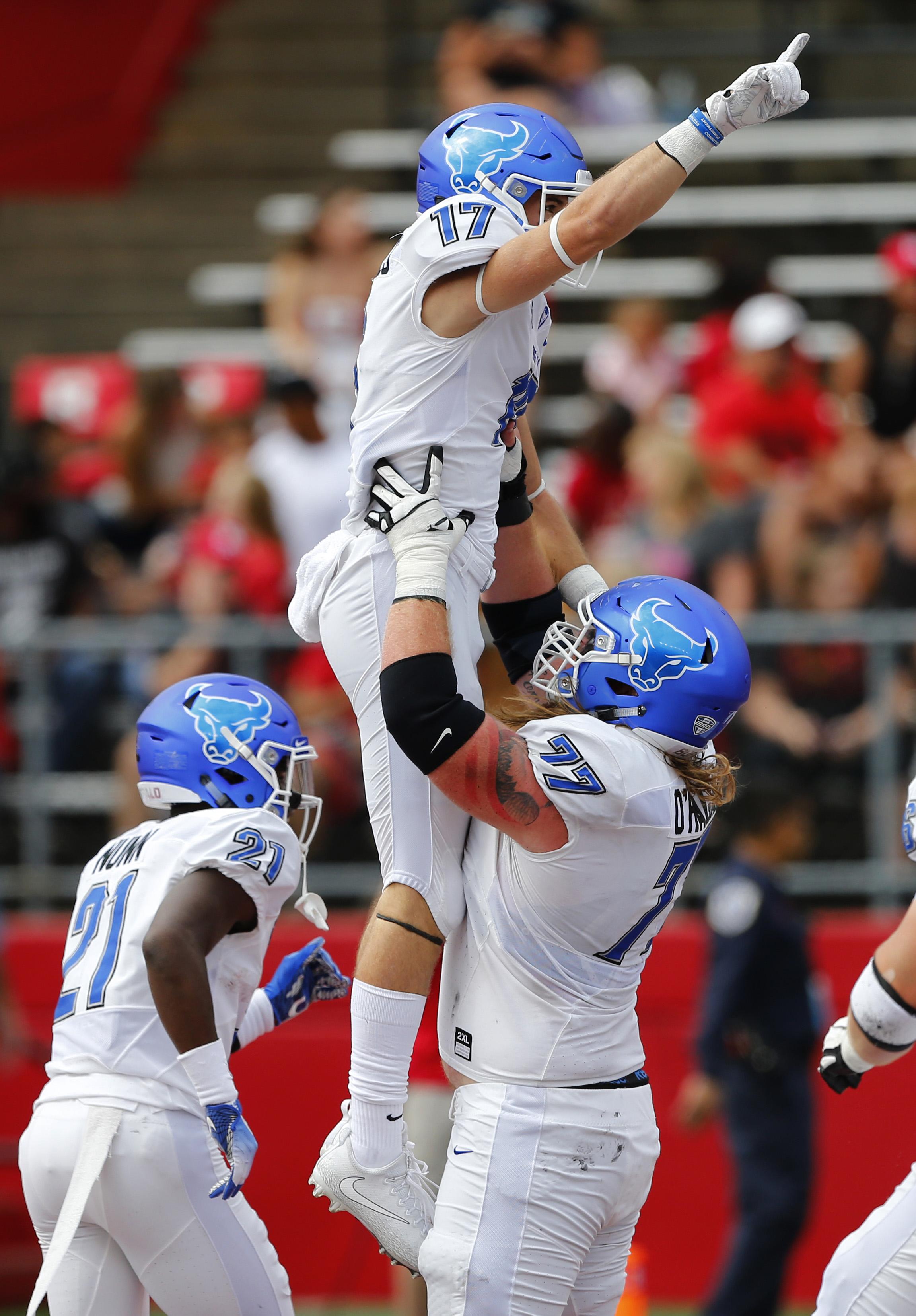 NCAA Football: Buffalo at Rutgers