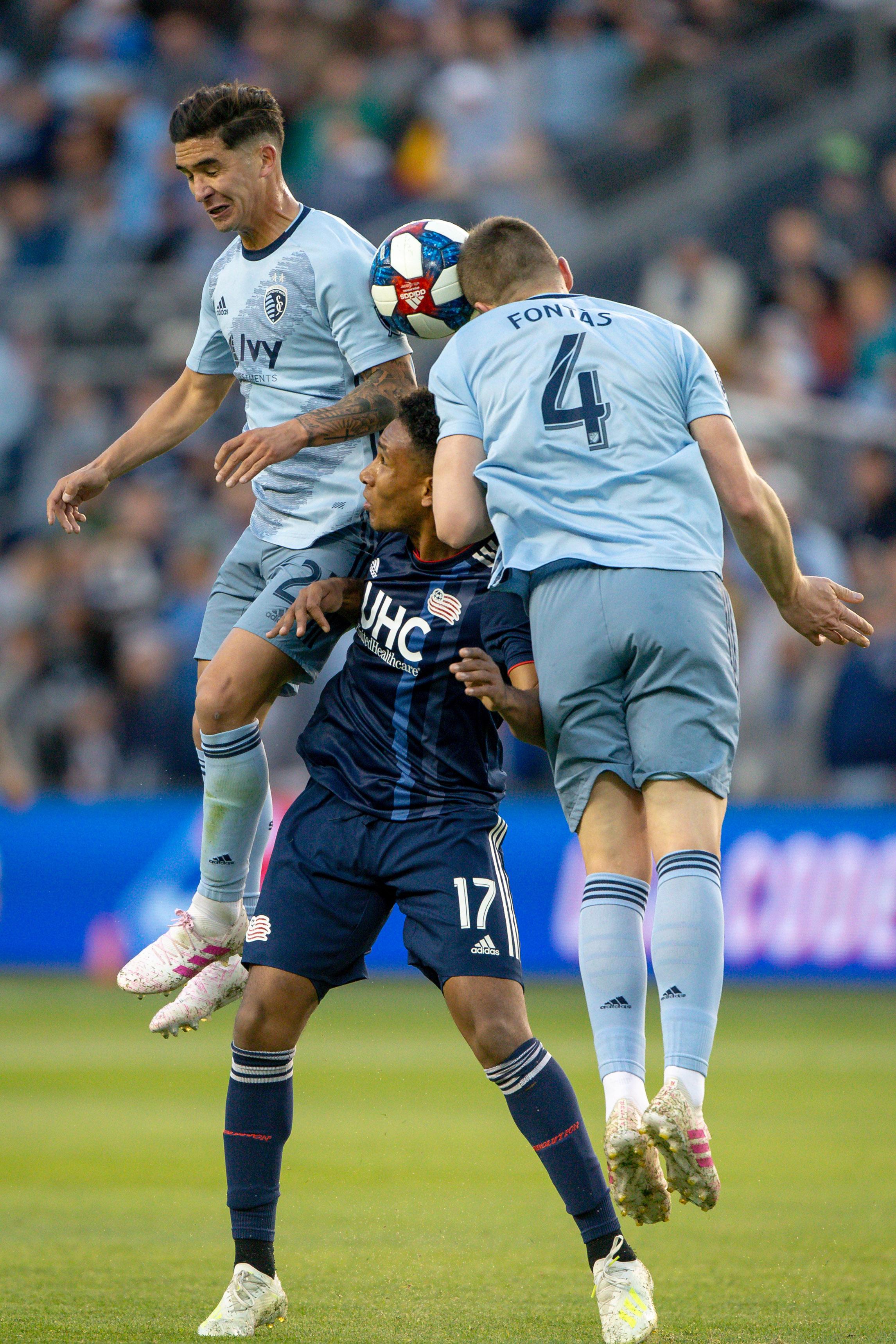 MLS: New England Revolution at Sporting Kansas City