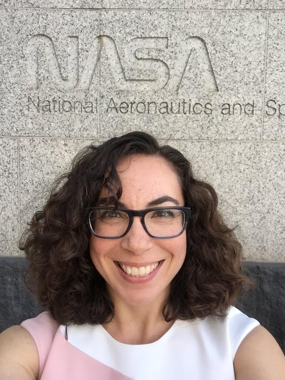 Astrophysicist Erika Hamden.