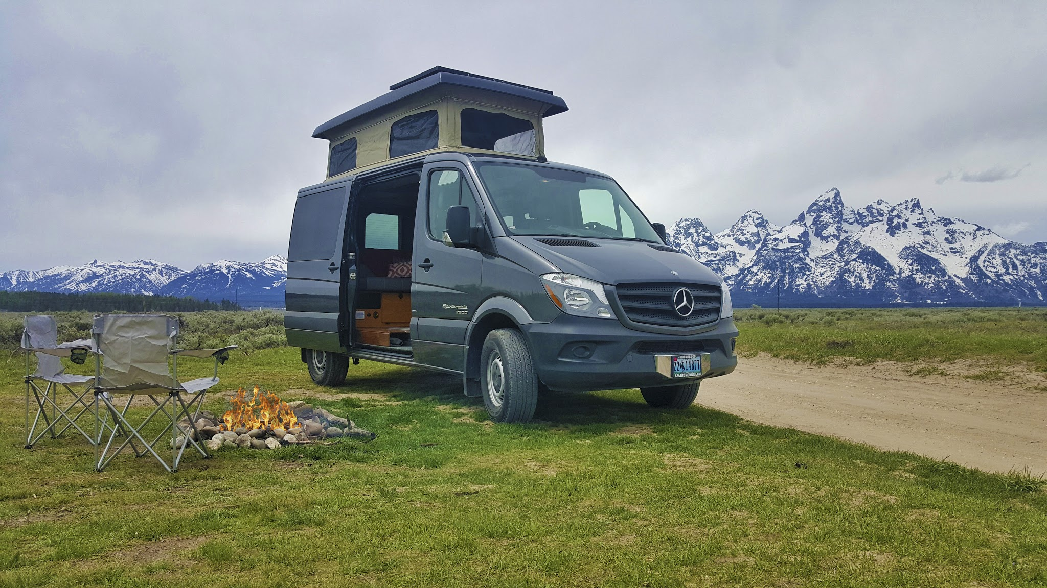 Try out van life in these sporty four-wheel drive campers