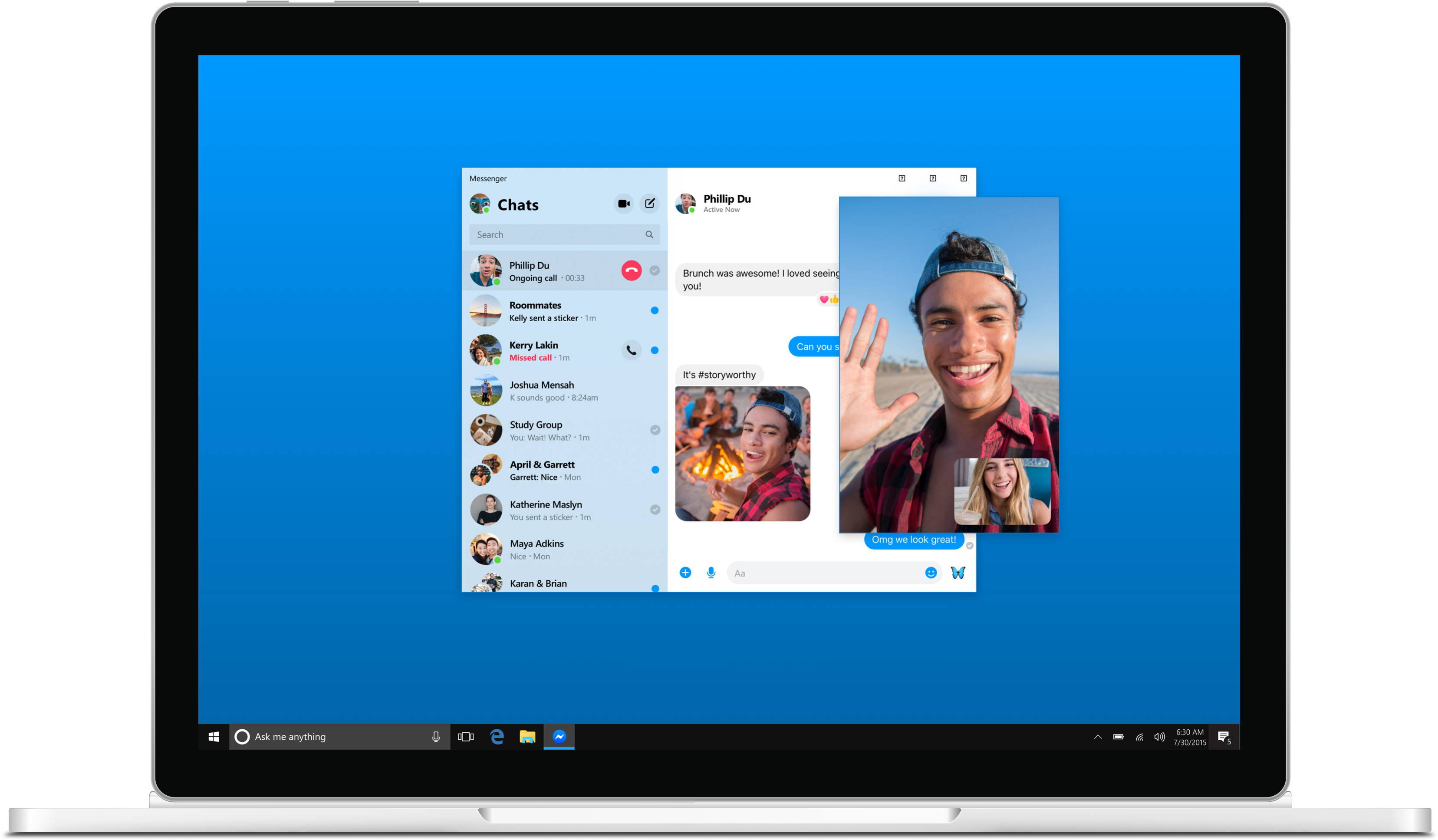 Facebook Messenger is coming to the desktop - The Verge