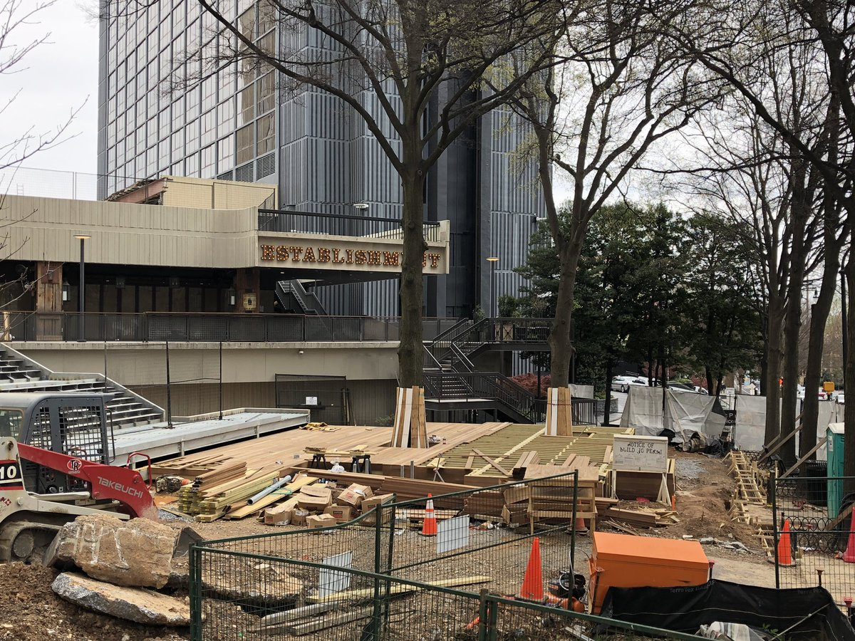 Colony Square to debut The Grove, 'Midtown's newest gathering place,' this week