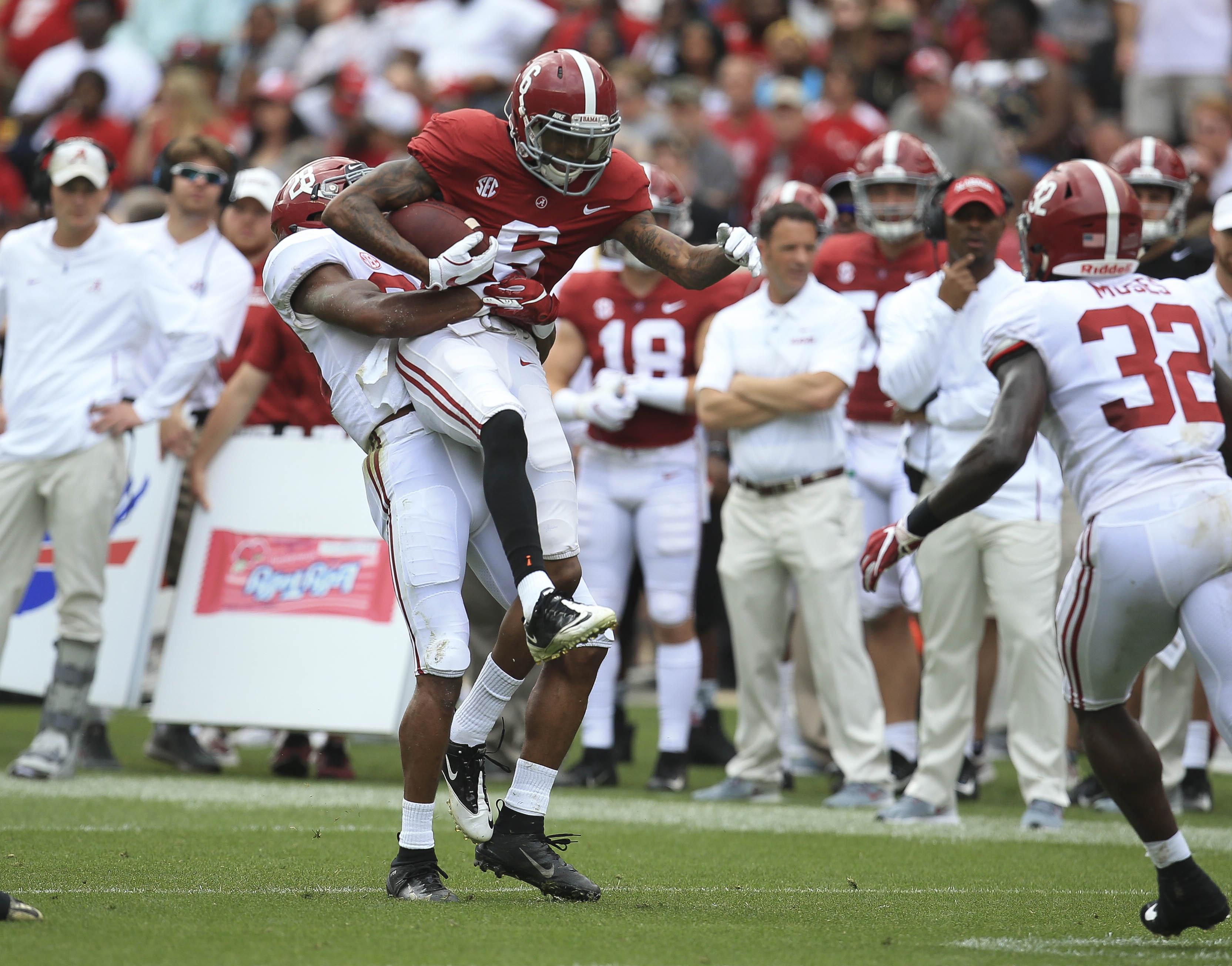 NCAA Football: Alabama A Day
