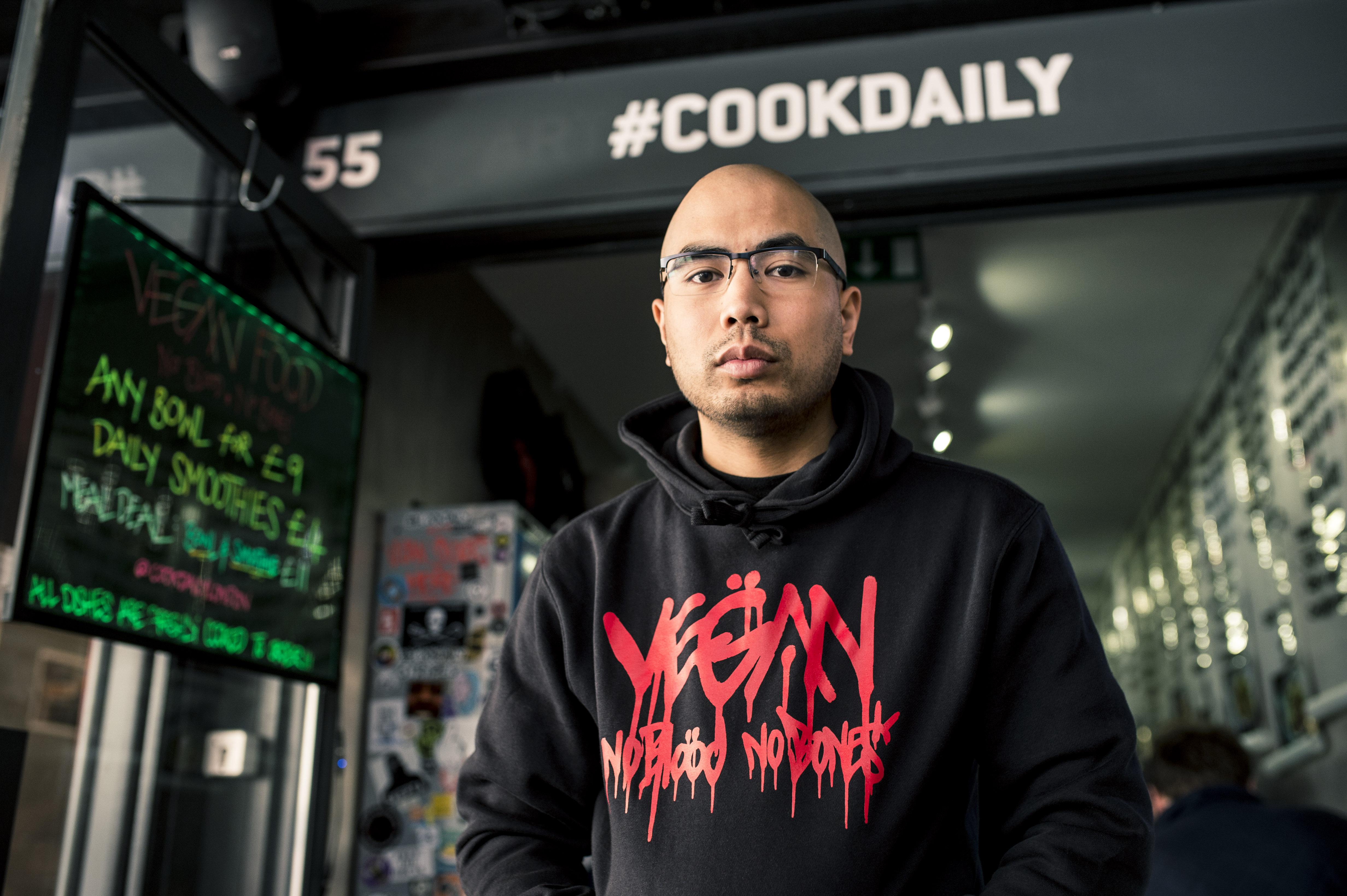 London vegan restaurant Cook Daily