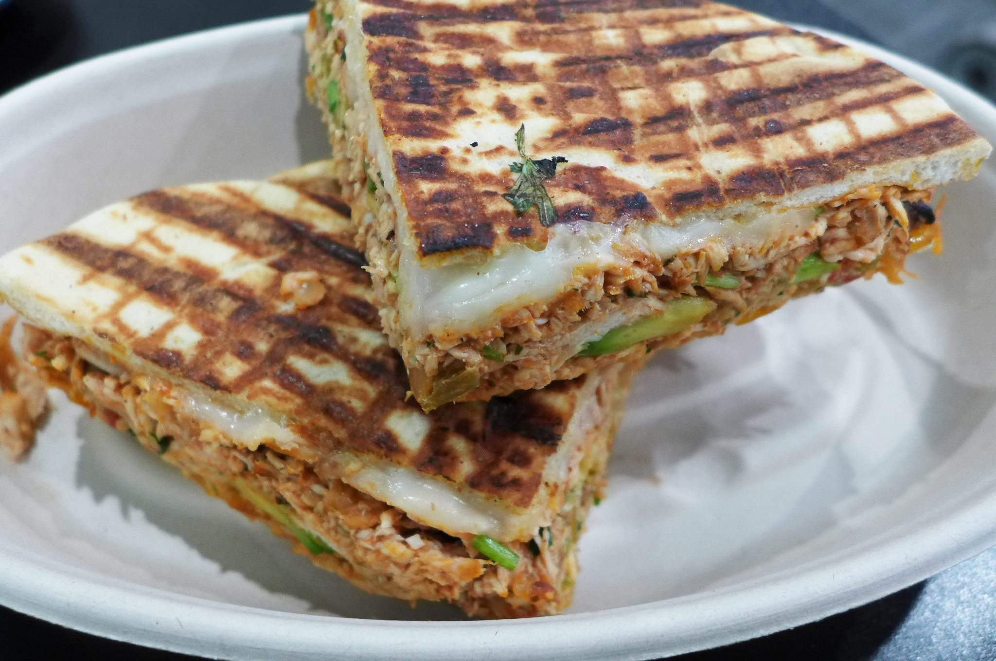 This Melty Quesadilla Panini Is a Midtown Sandwich Worth Seeking Out