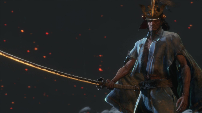 Sekiro Isshin, the Sword Saint (Phase 3) boss fight