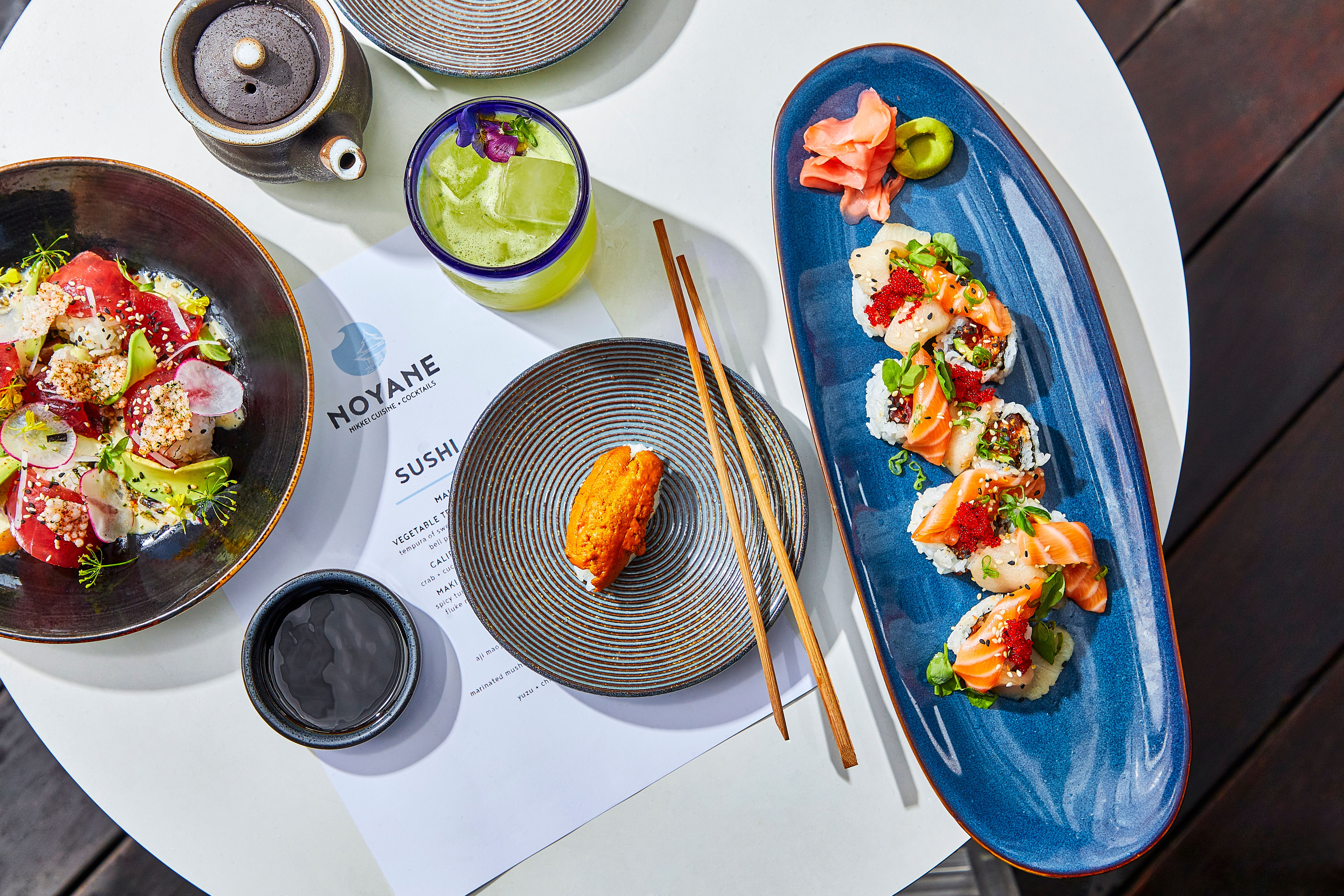 A River North Rooftop Lounge Is Introducing a New Japanese-Peruvian Menu