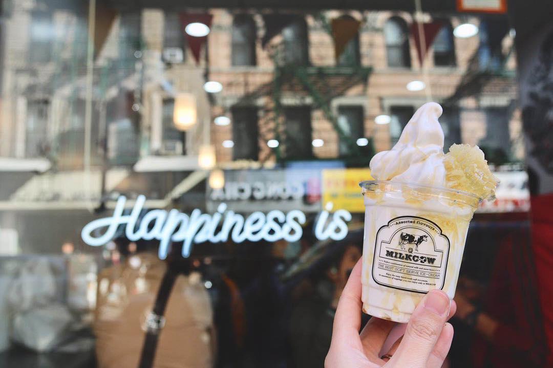 Popular Korean Chain Brings Creamy Milk Soft Serve to Chinatown