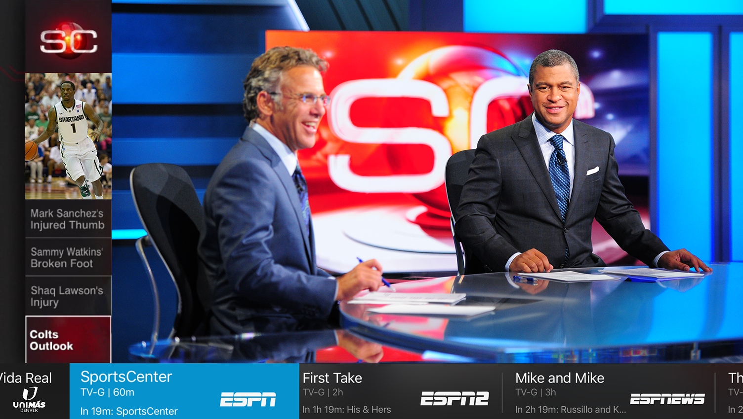 A live TV package — ESPN, CNN, AMC and more — is finally coming to Apple TV