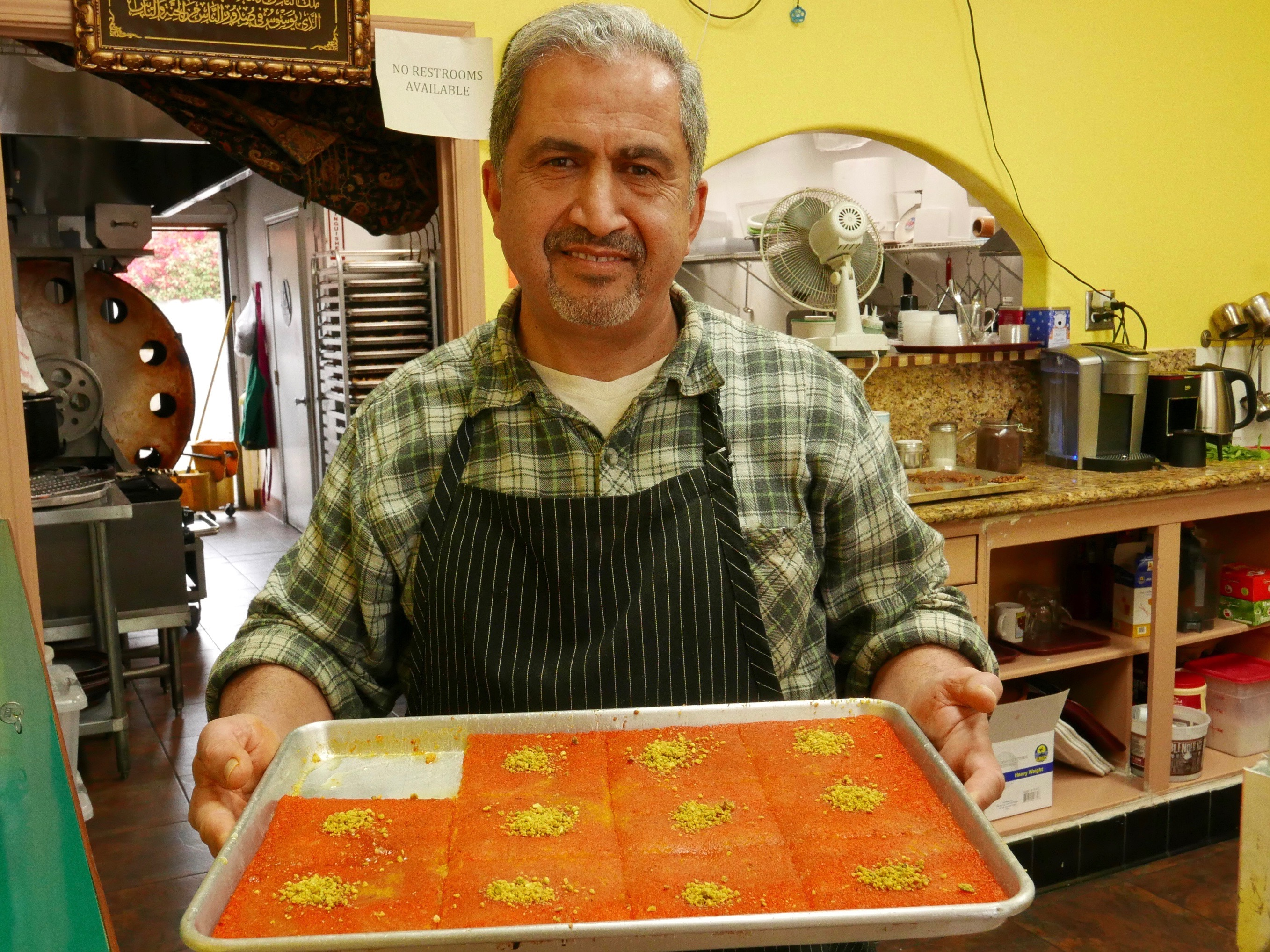 Anaheim's Palestinian Bakery Offers a Rare Taste of Crispy Middle Eastern Phyllo Pastries
