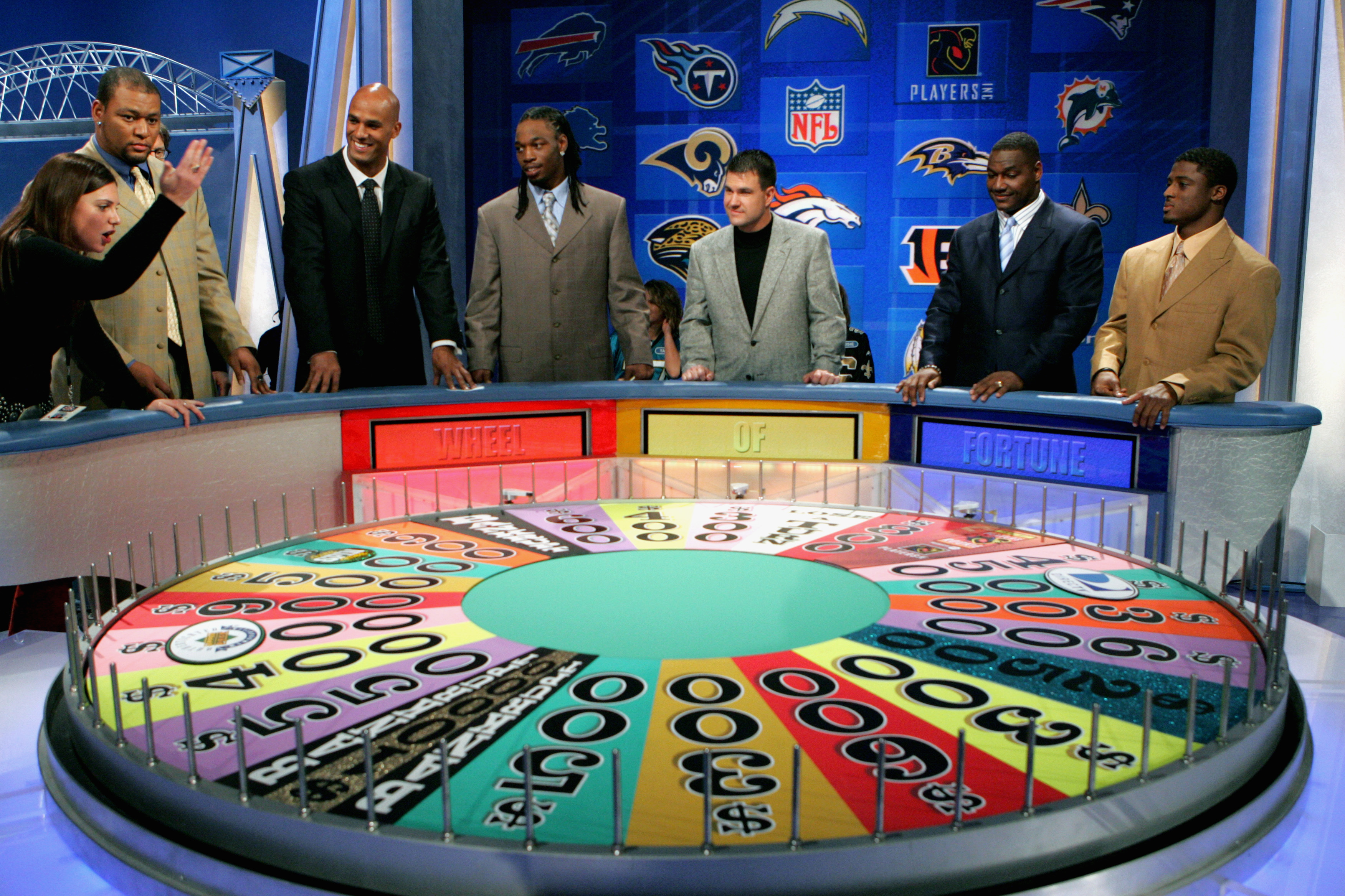NFL球员展开竞争车轮的财富