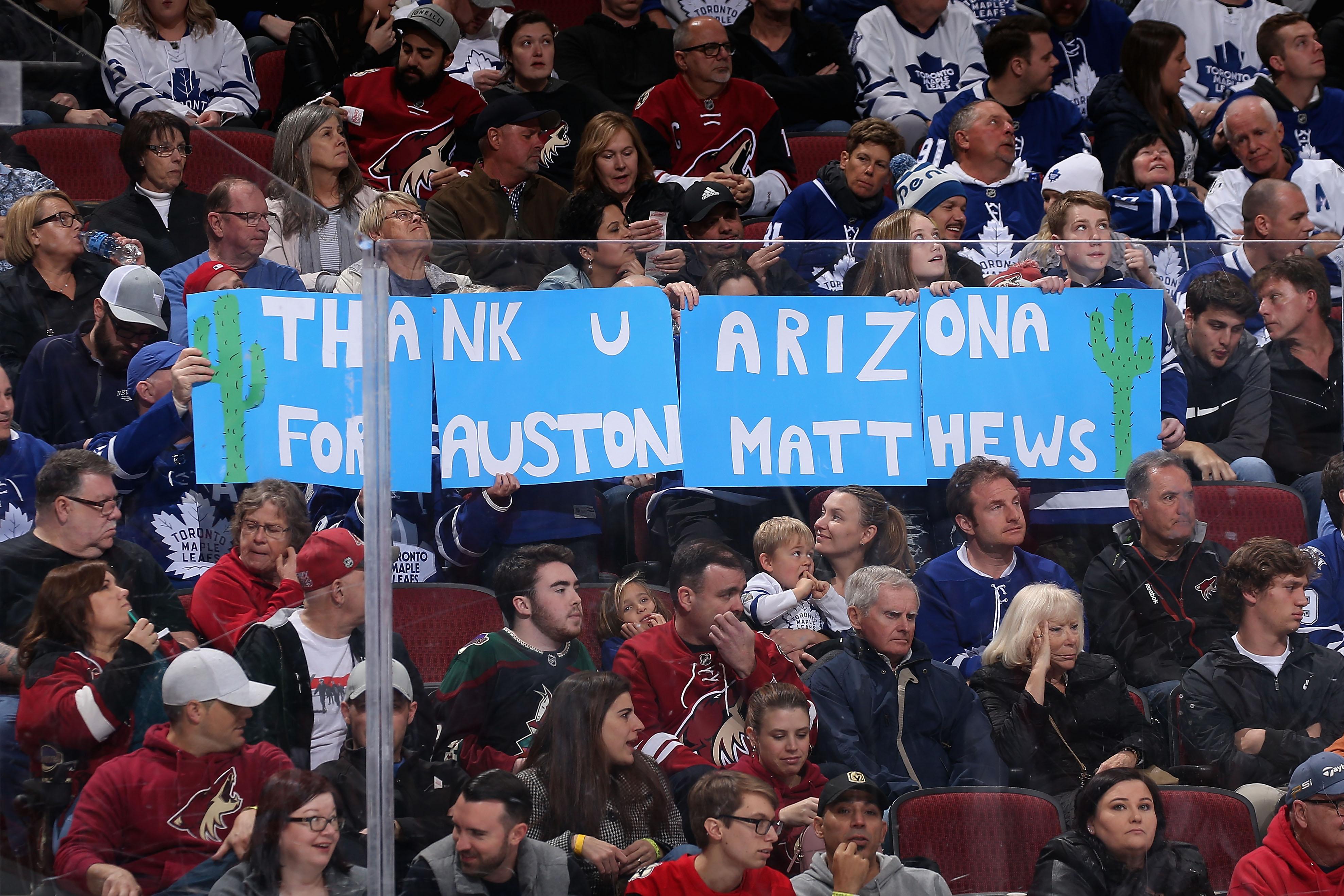 Toronto Maple Leafs v Arizona Coyotes
