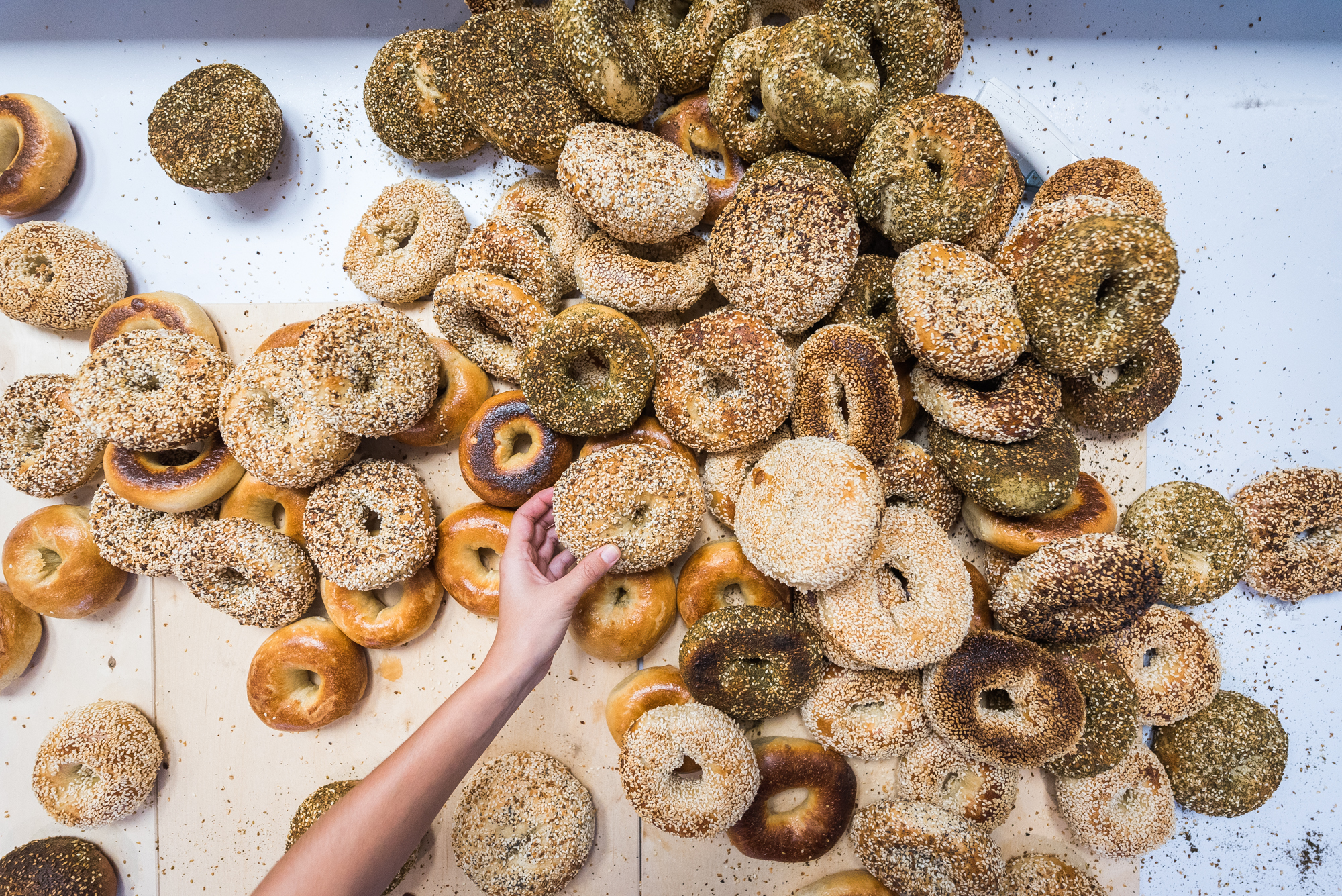 Bagels at Call Your Mother in Washington D.C.
