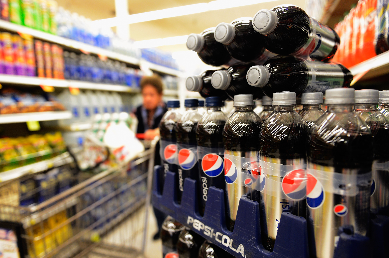 Soda Revenue Drops In U.S.