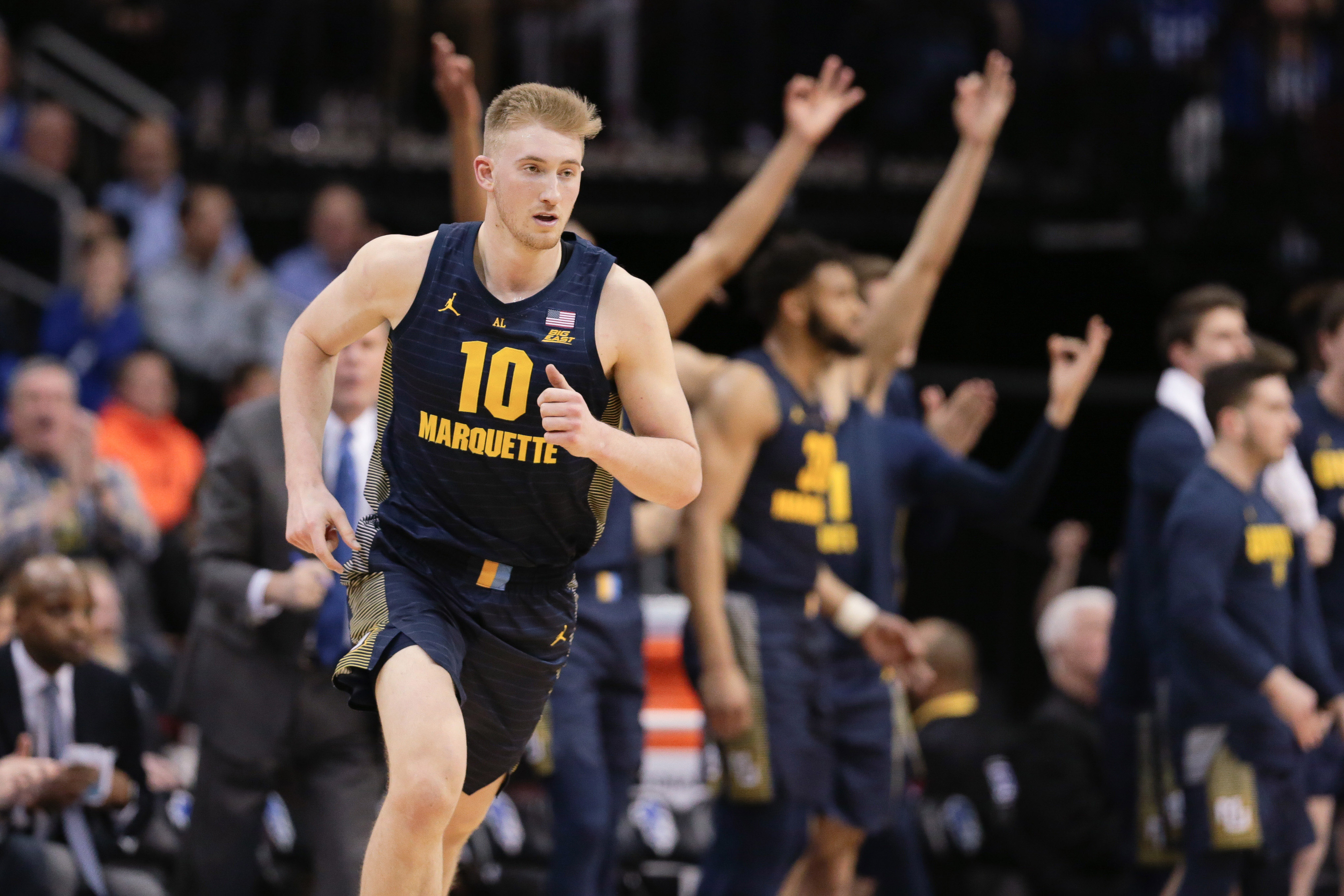 NCAA Basketball: Marquette at Seton Hall