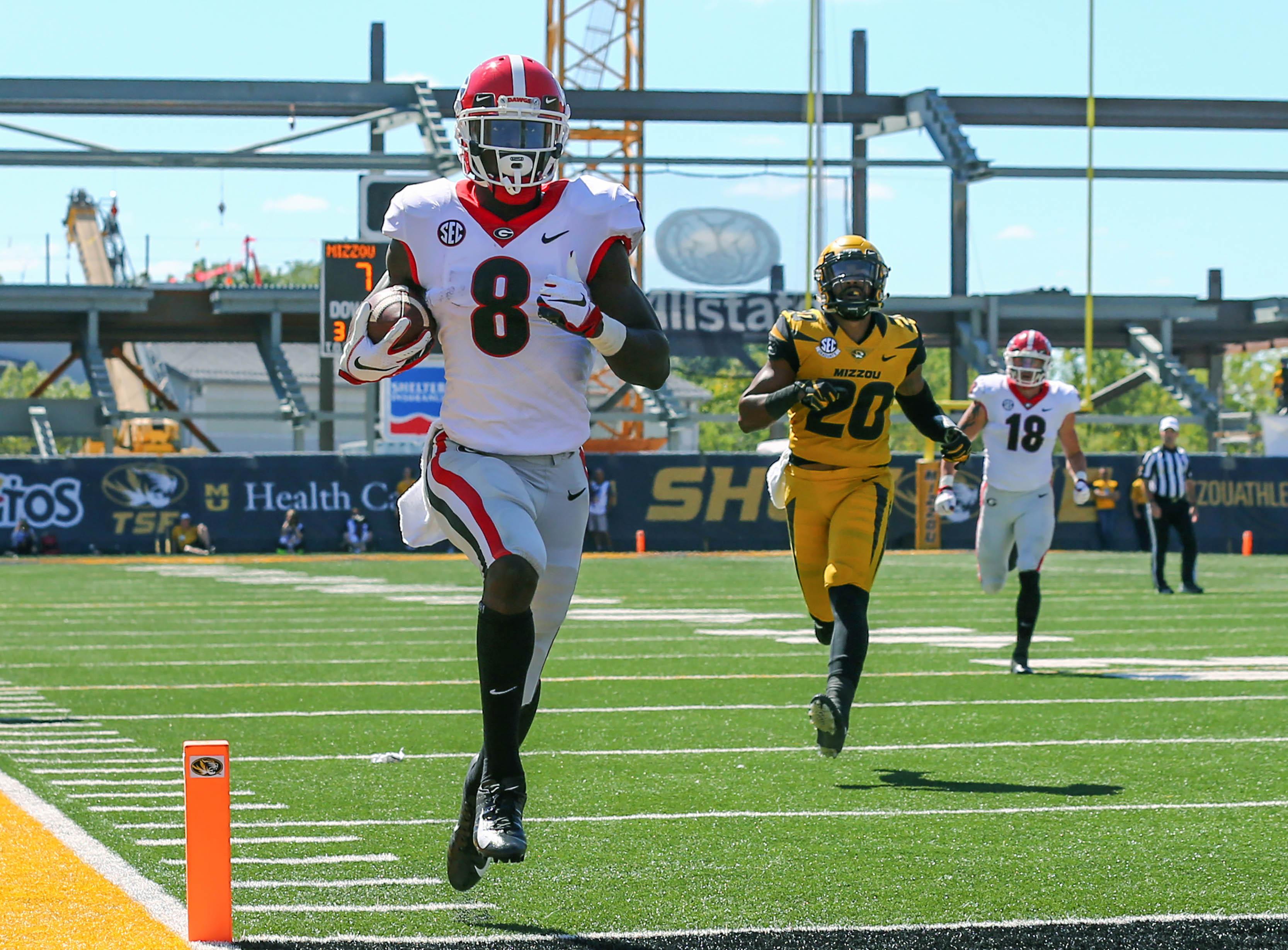 NCAA Football: Georgia at Missouri