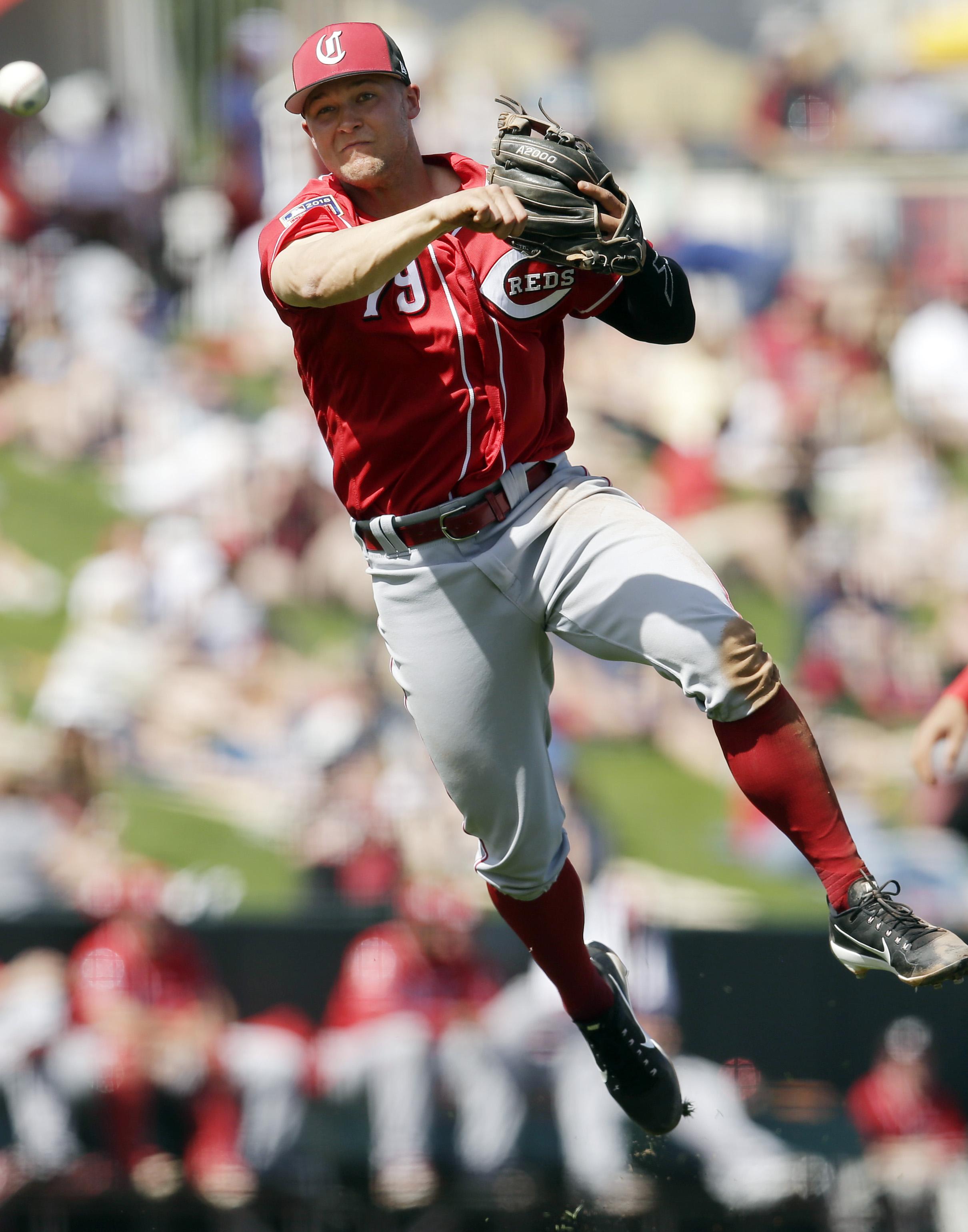 MLB: Spring Training-Cincinnati Reds at Los Angeles Angels