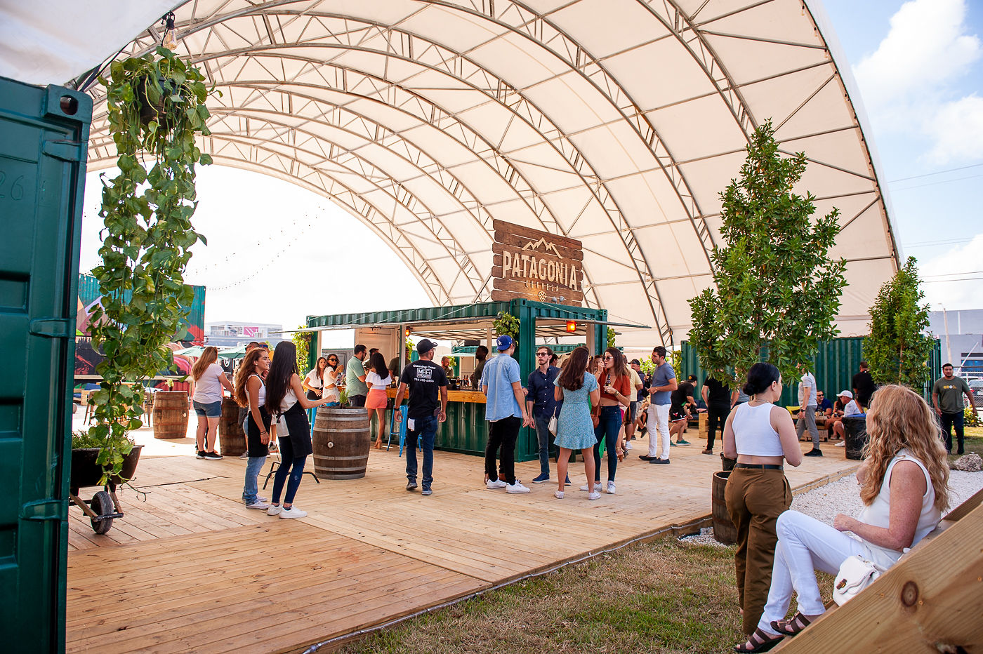 Wynwood Now Has an 18,000-Square-Foot, Eco-Friendly, Outdoor Food and Drink Space