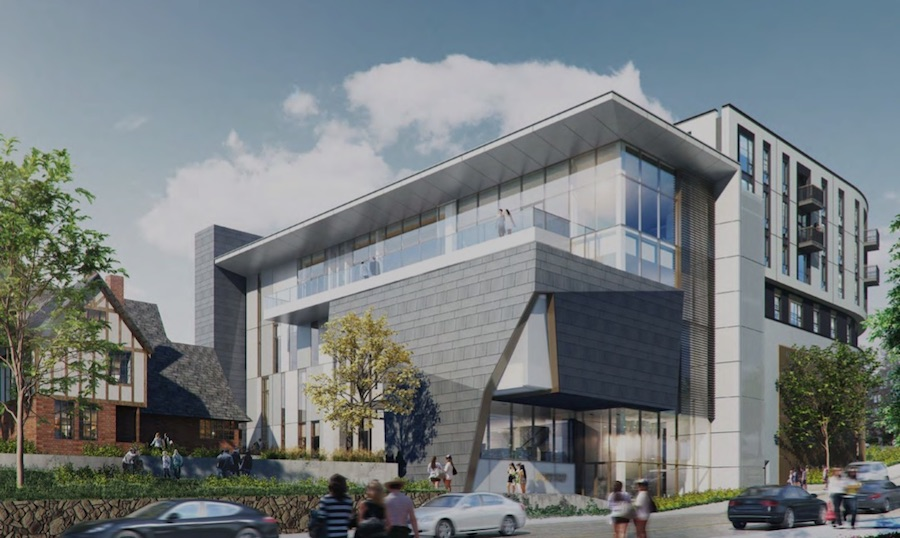 Rendering of the planned Upper Hearst housing development in Berkeley.