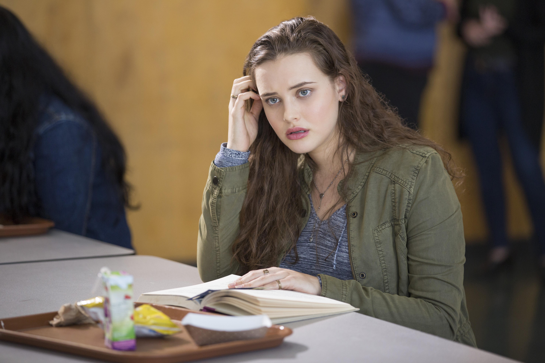 Katherine Langford in 13 Reasons Why, season 1, episode 7