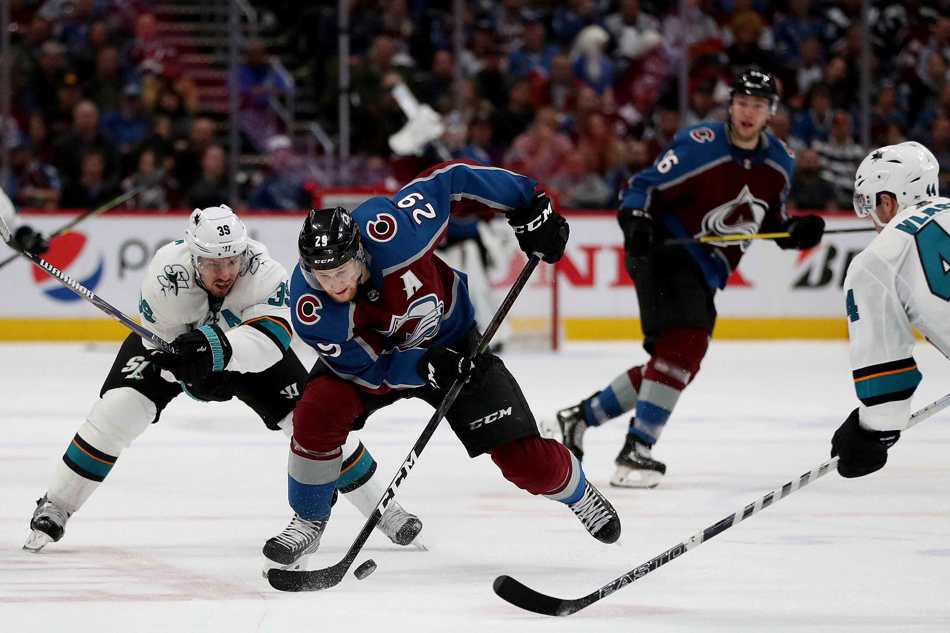 San Jose Sharks v Colorado Avalanche - Game Four