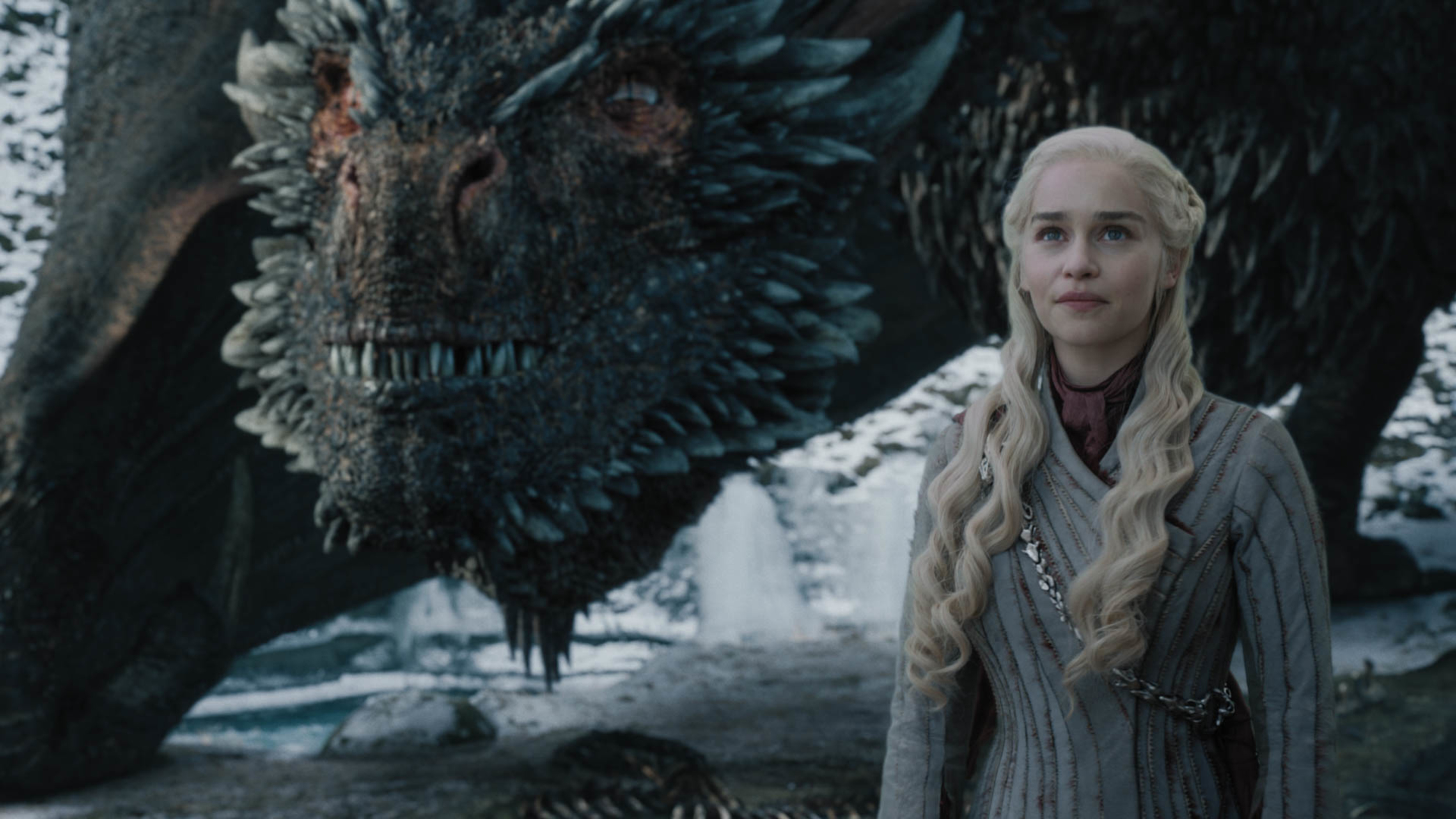 Game of Thrones season 8 episode 4 - Drogon and Daenerys
