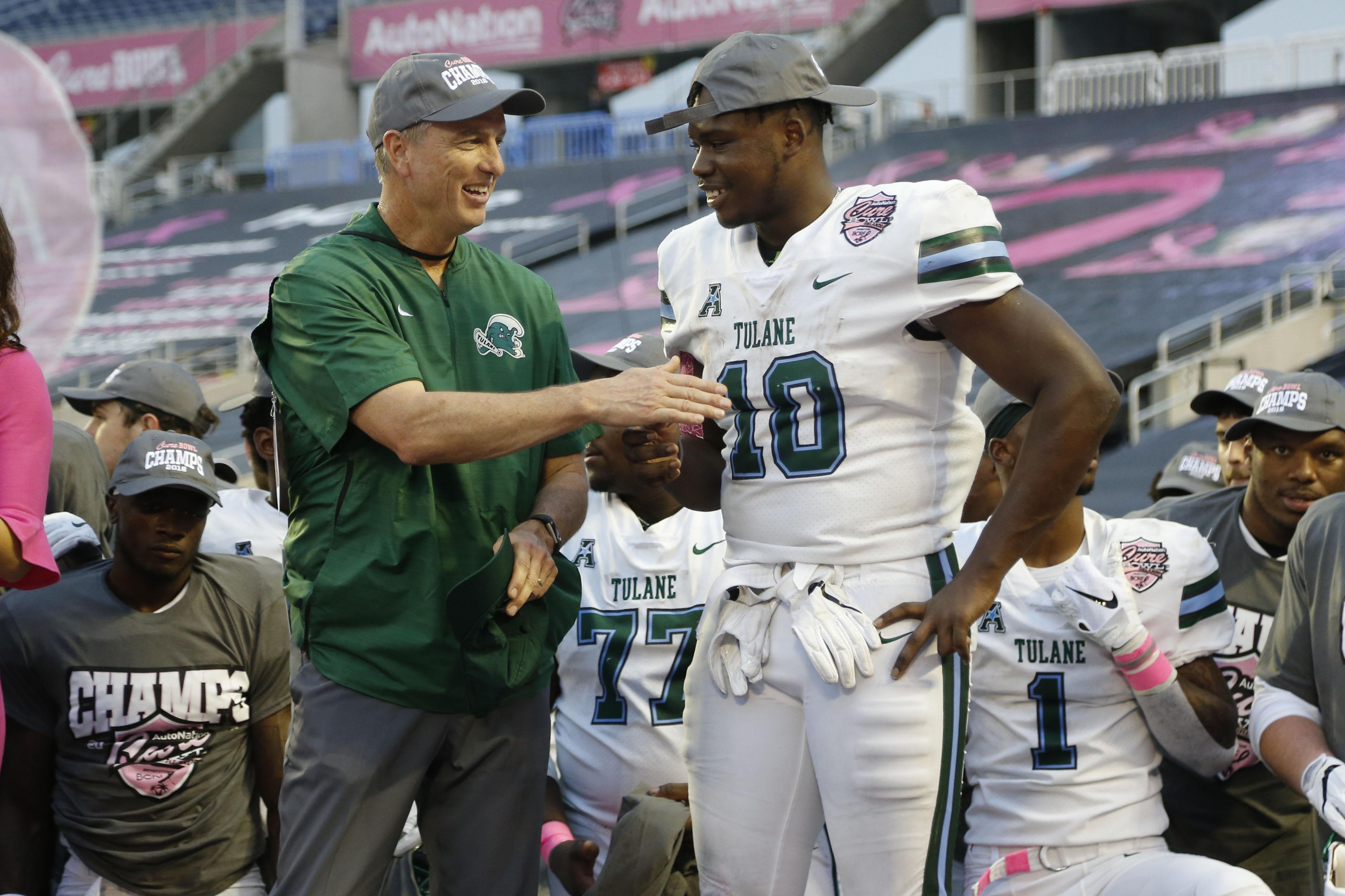 NCAA Football: Cure Bowl-Tulane vs UL Lafayette