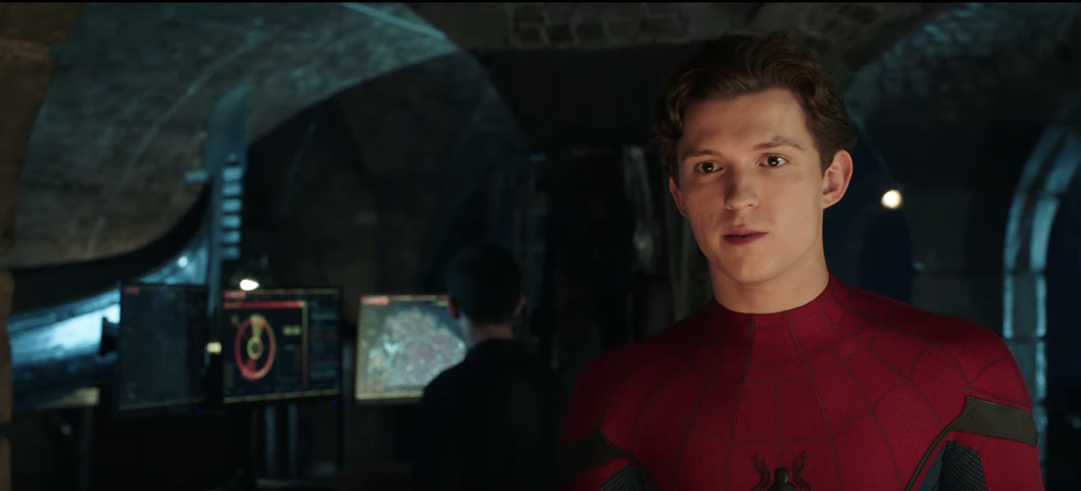 Peter Parker in Spider-Man: Far From Home