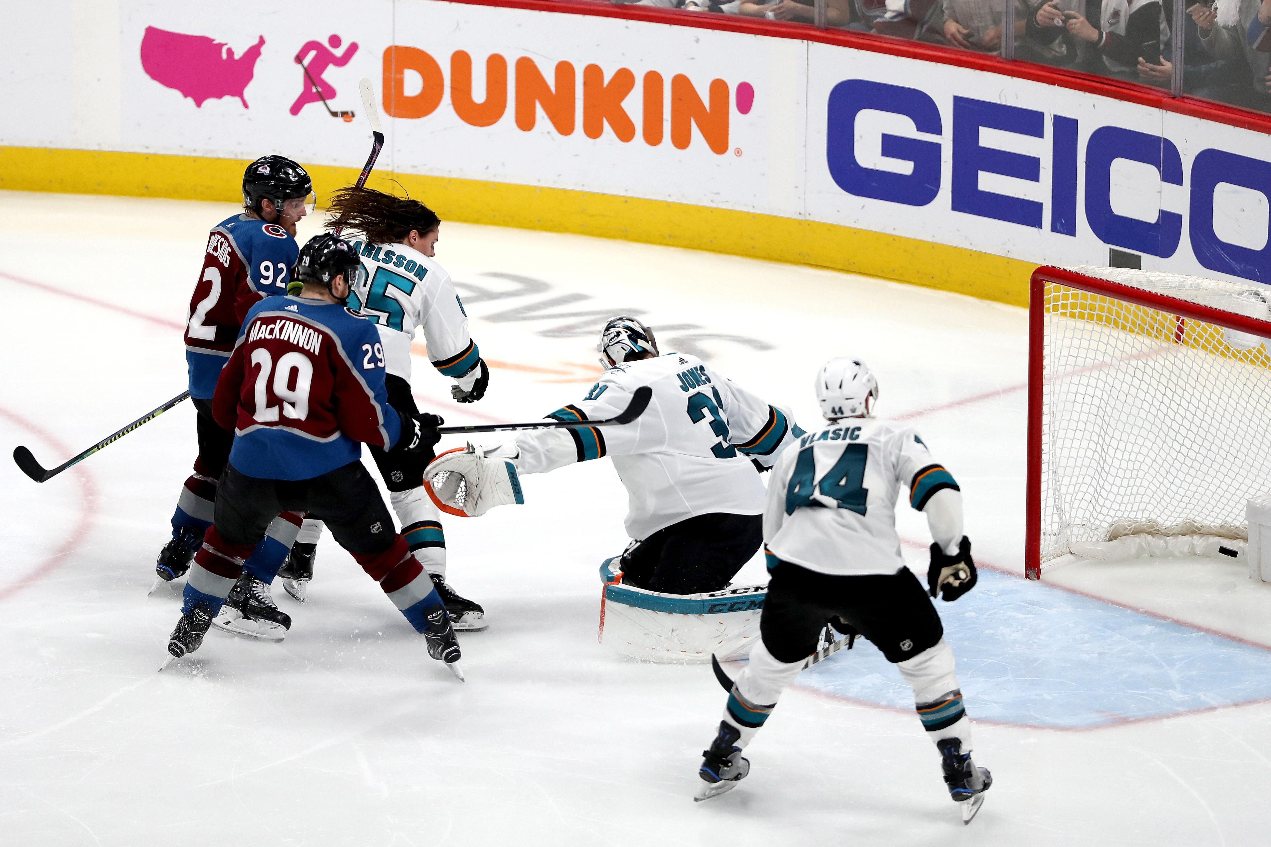 San Jose Sharks v Colorado Avalanche - Game Six