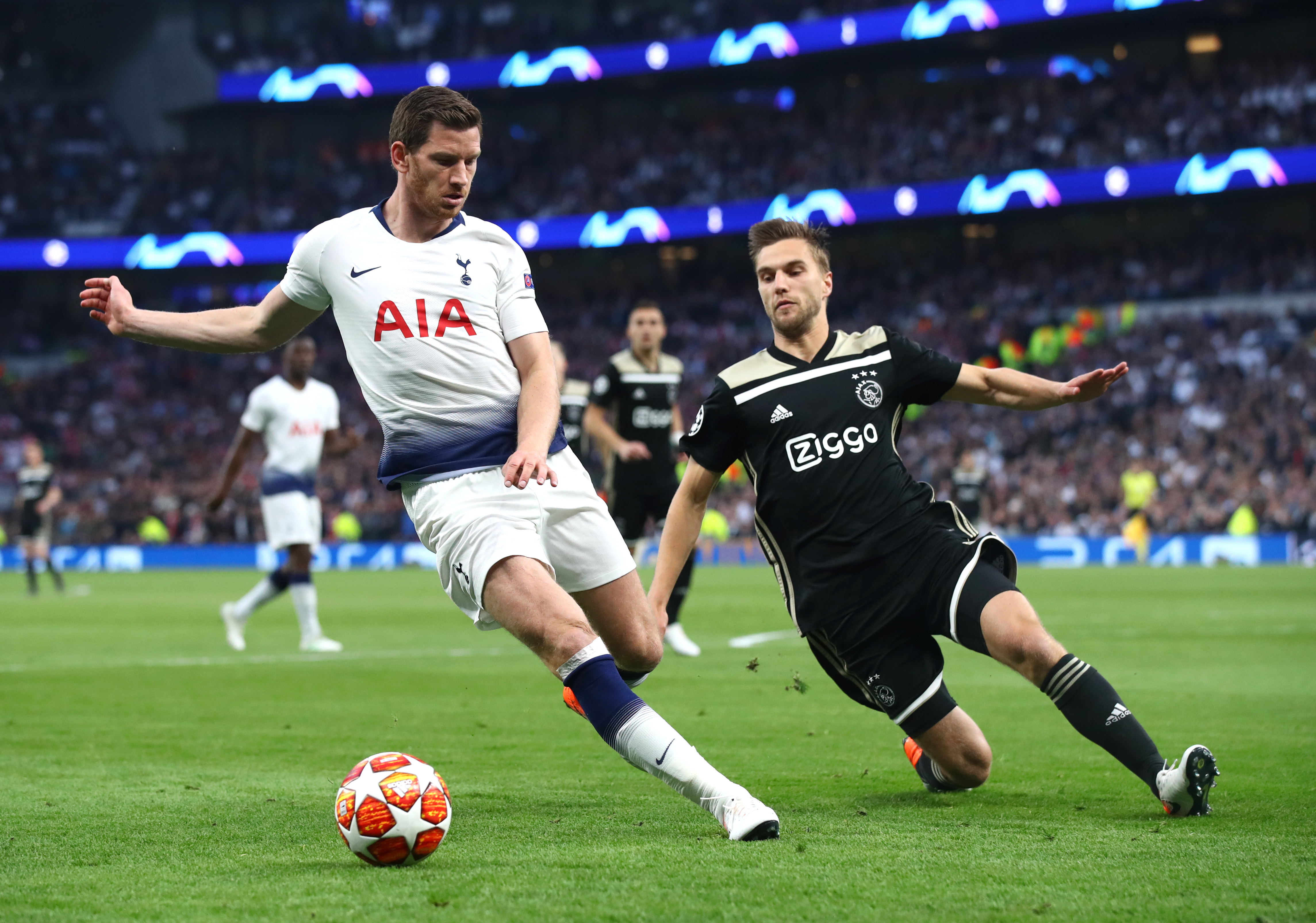 Vertonghen, Aurier could return for Tottenham in Champions League semifinal