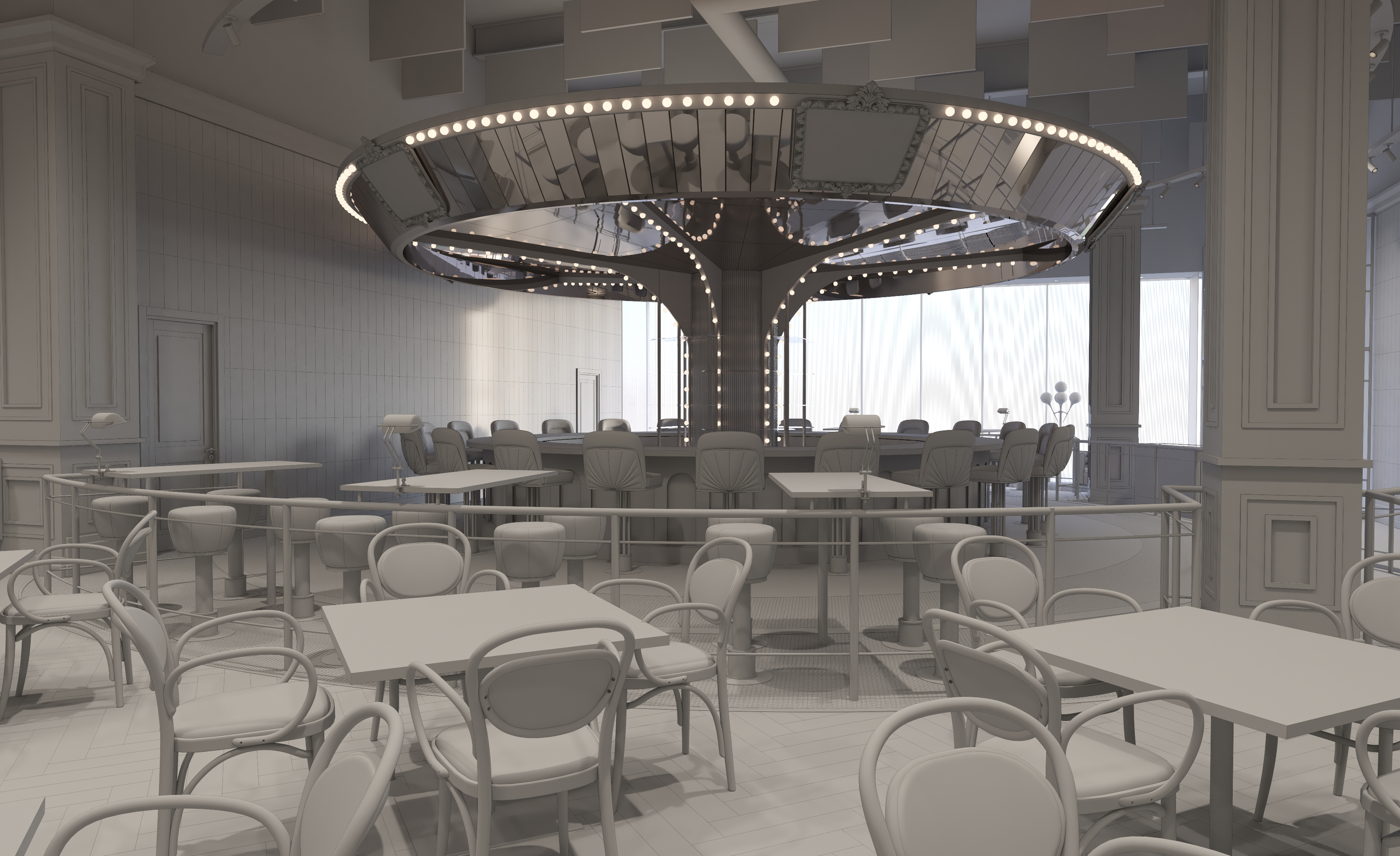 A French Restaurant With a Rotating 'Carousel Bar' Is Coming to the Loop