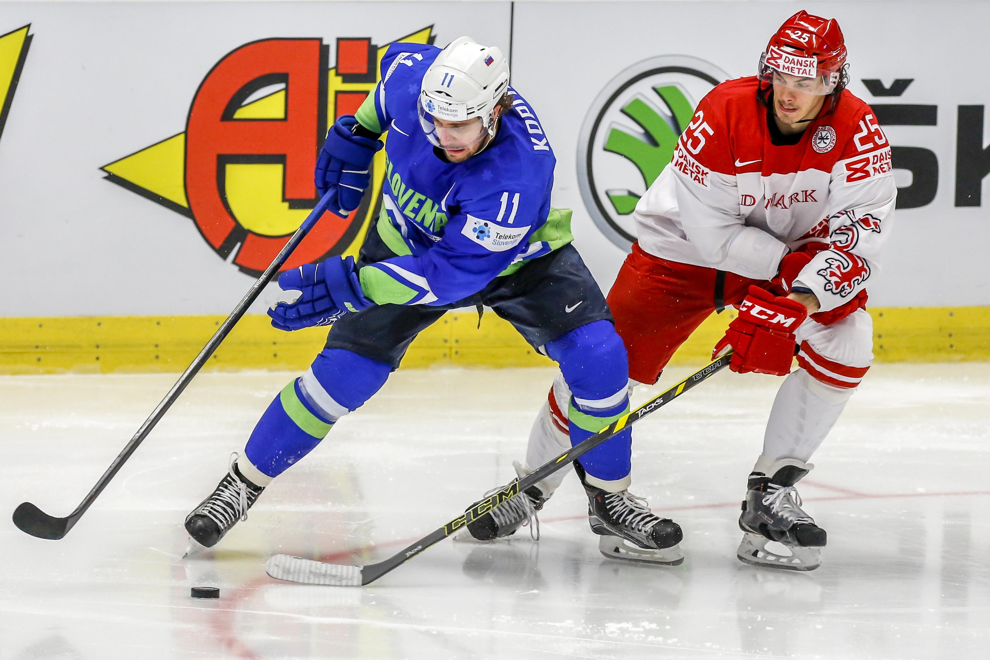 Slovenia v Denmark - 2015 IIHF Ice Hockey World Championship