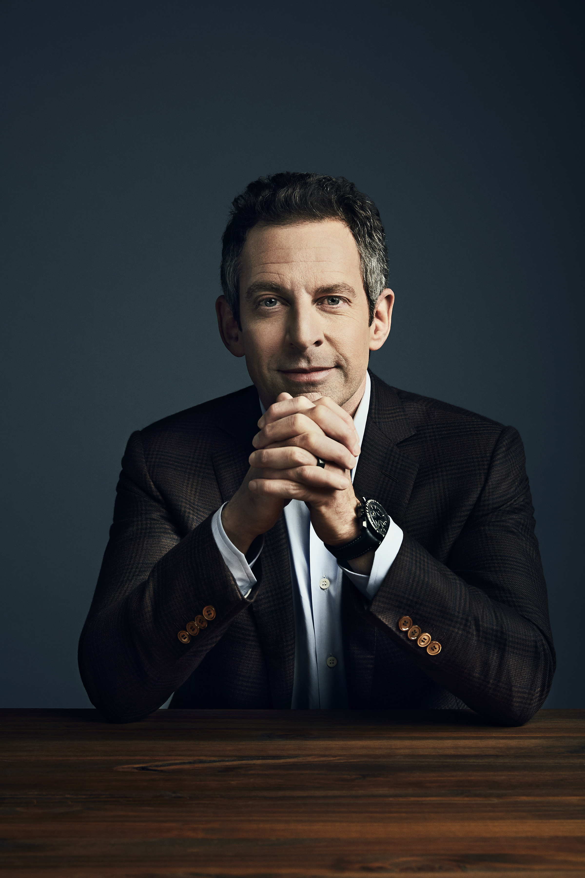 Sam Harris, the host of the podcast Making Sense, and author of books such as Waking Up: A Guide to Spirituality Without Religion.