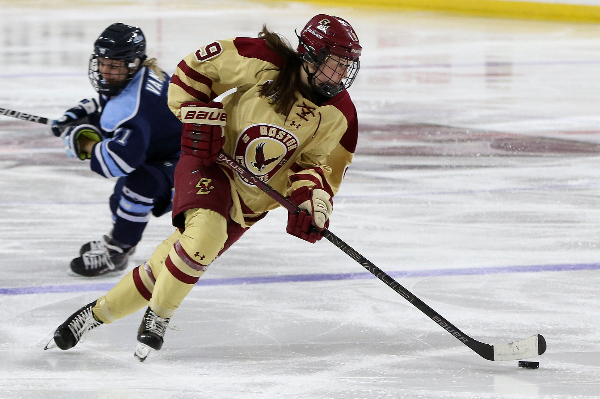 Boston College Women's Hockey - BC Interruption