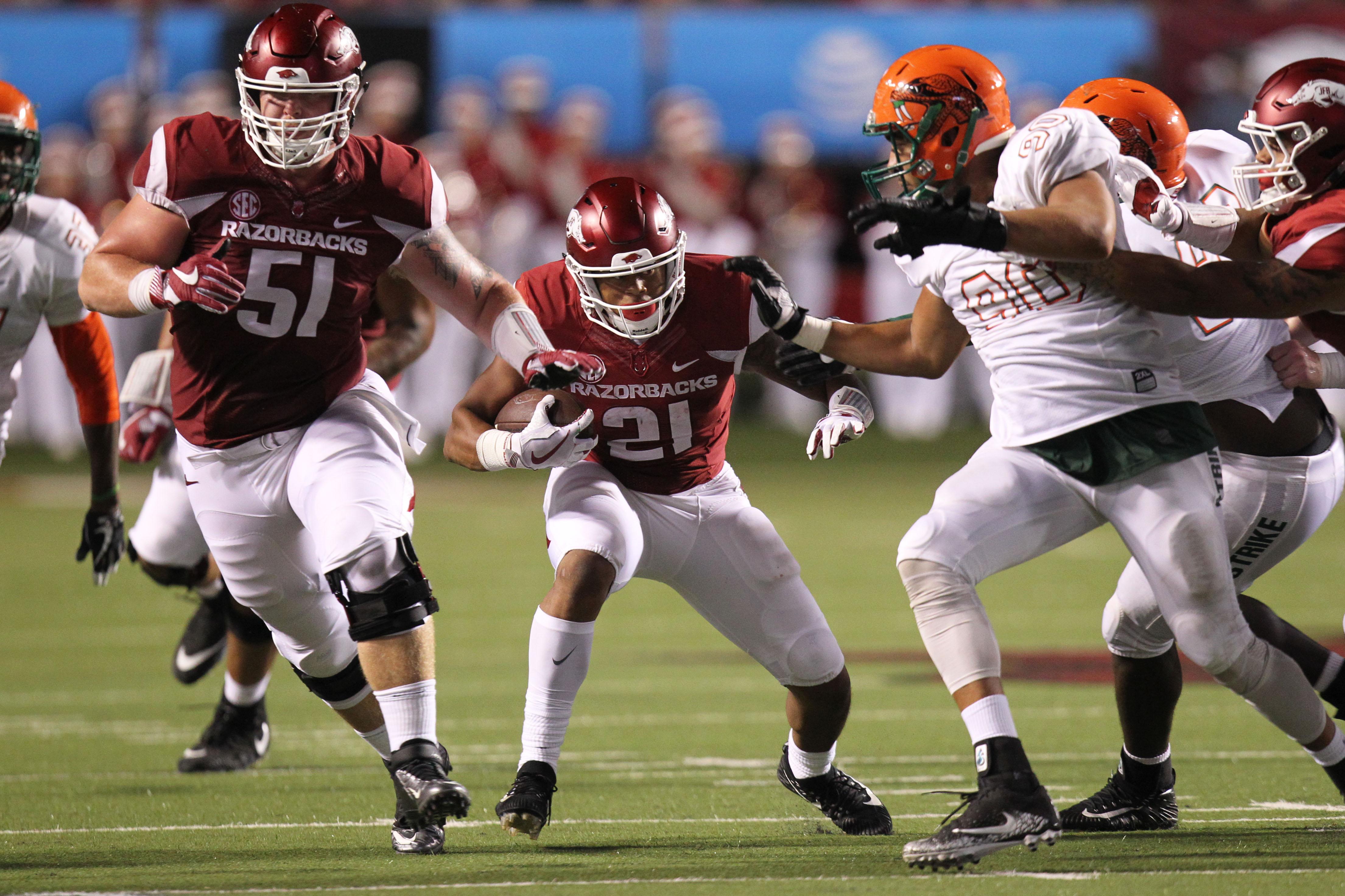 NCAA Football: Florida A&M at Arkansas