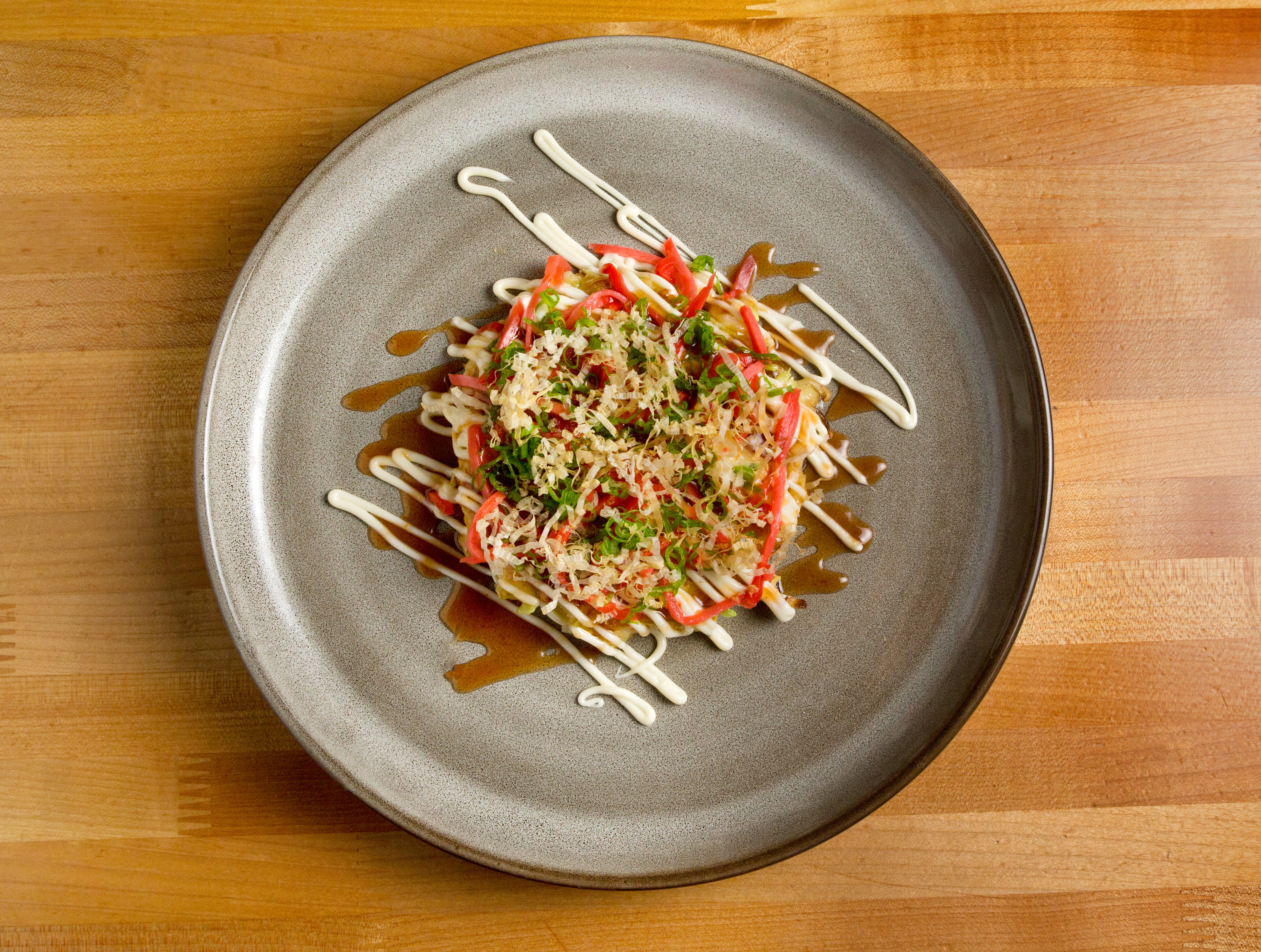 Okonomiyaki at Hatsumi