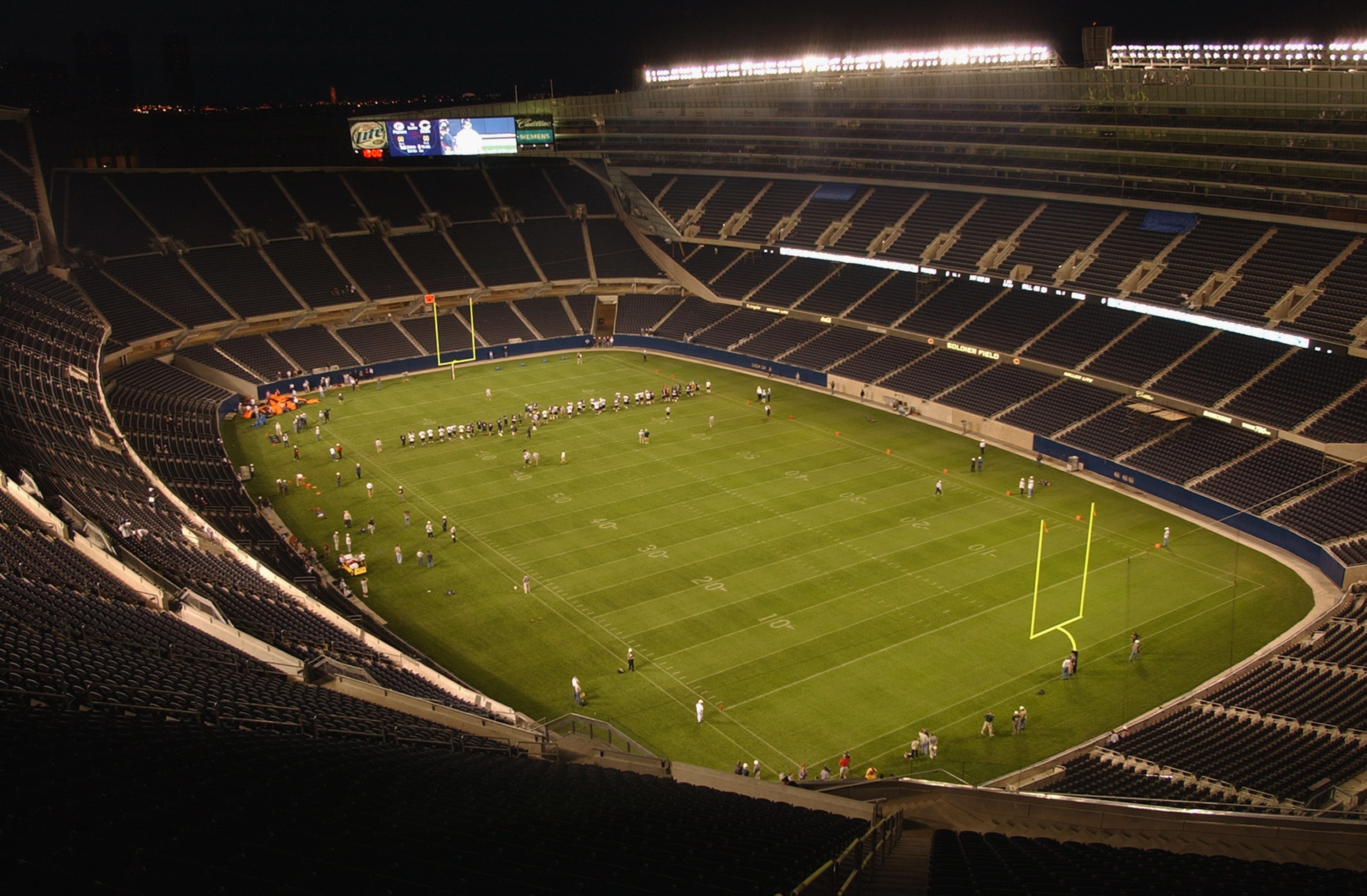 New Soldier Field and stadium