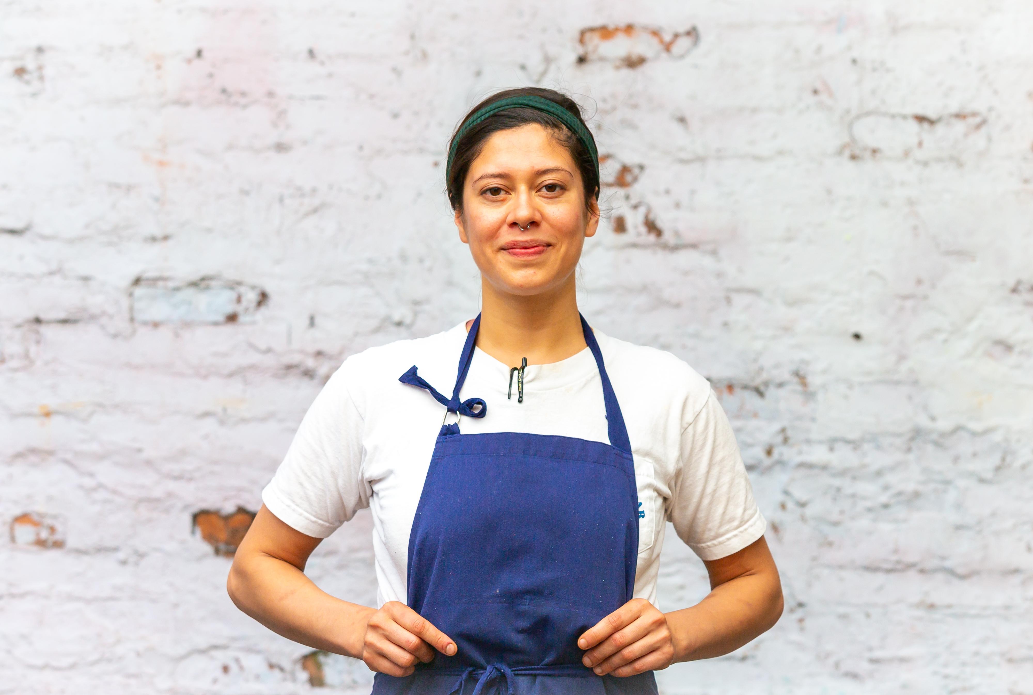 Chicomecoatl pop-up founder and 8ARM chef Maricela Vega