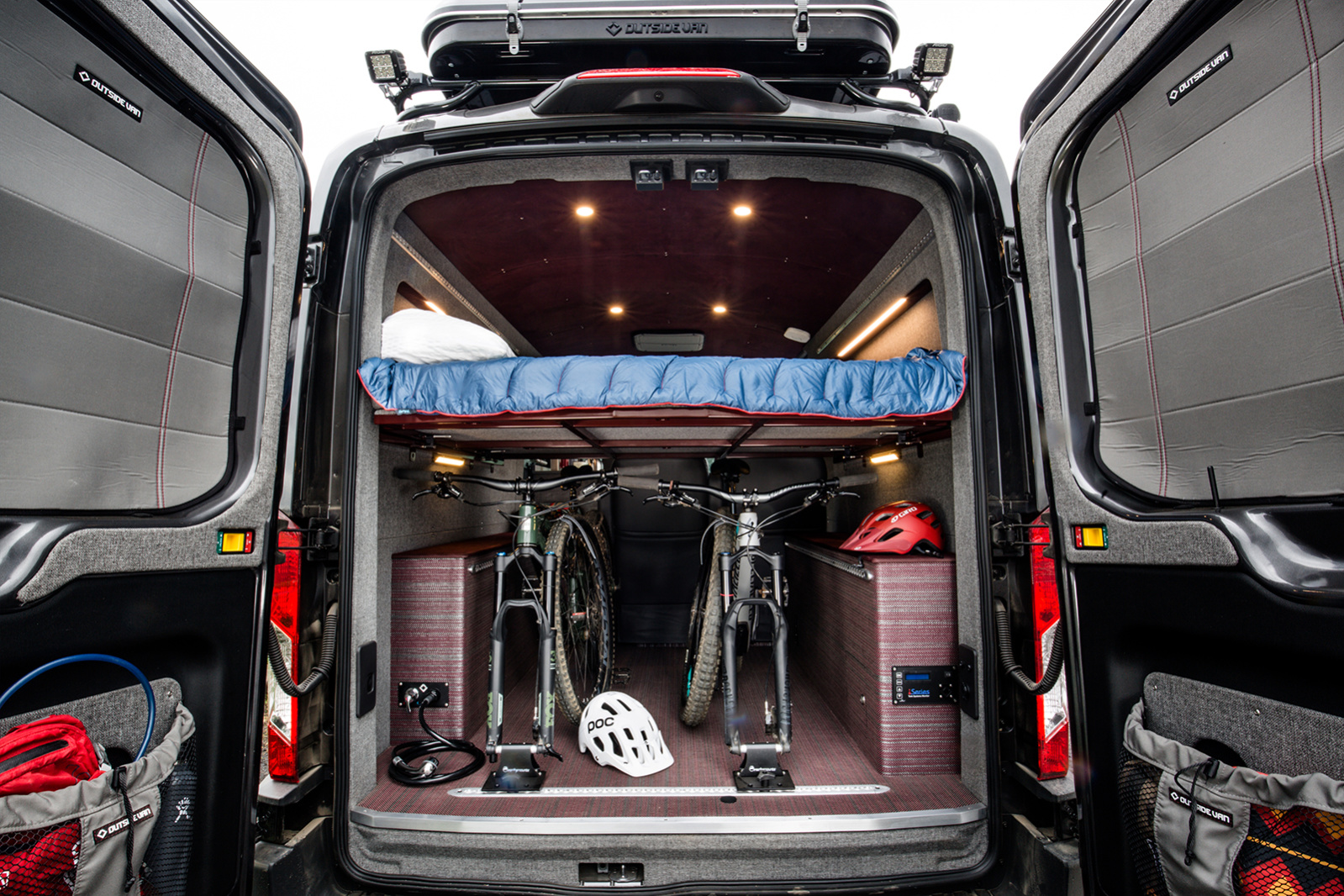 Sporty camper van sleeps four in style