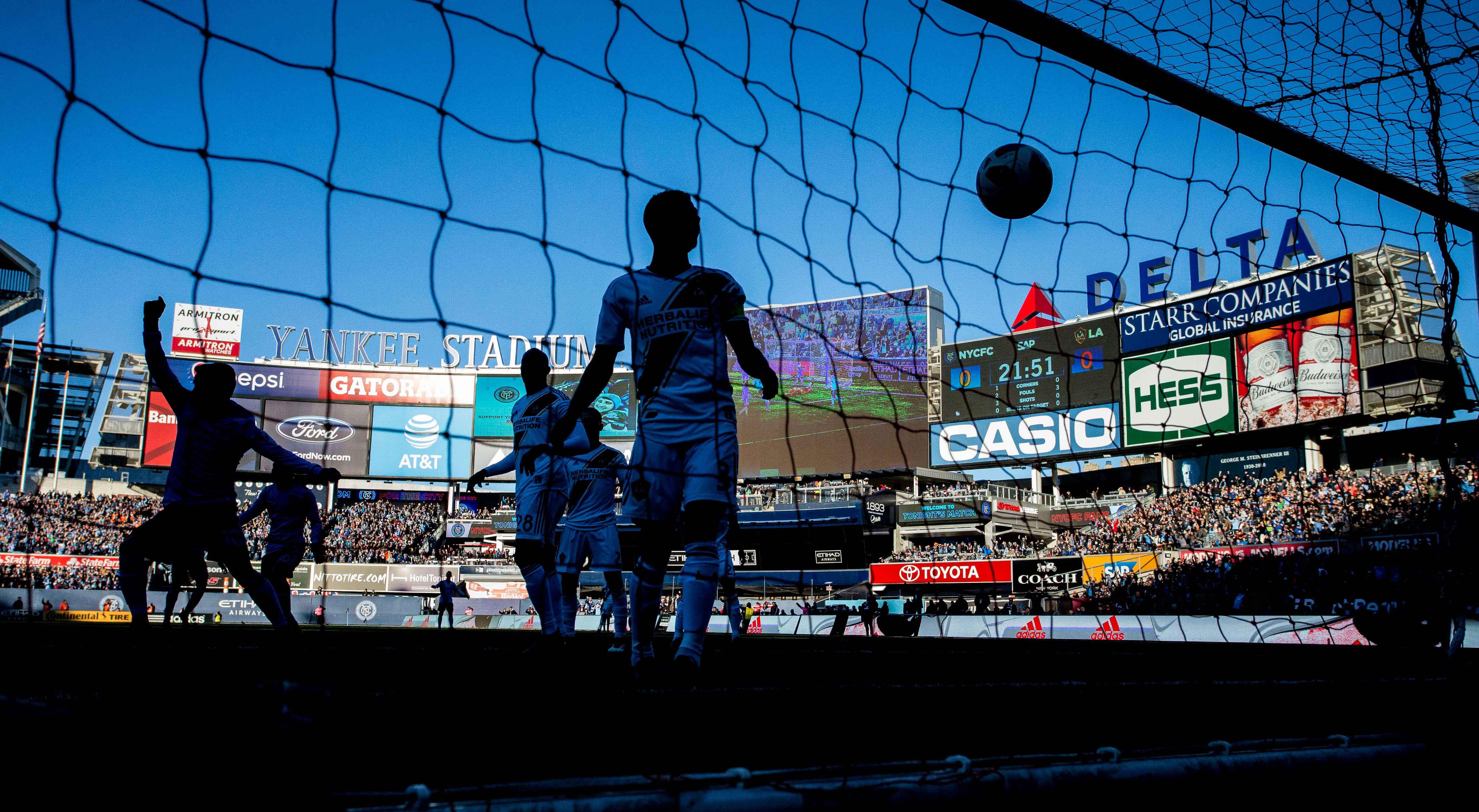 MLS: Los Angeles Galaxy at New York City FC