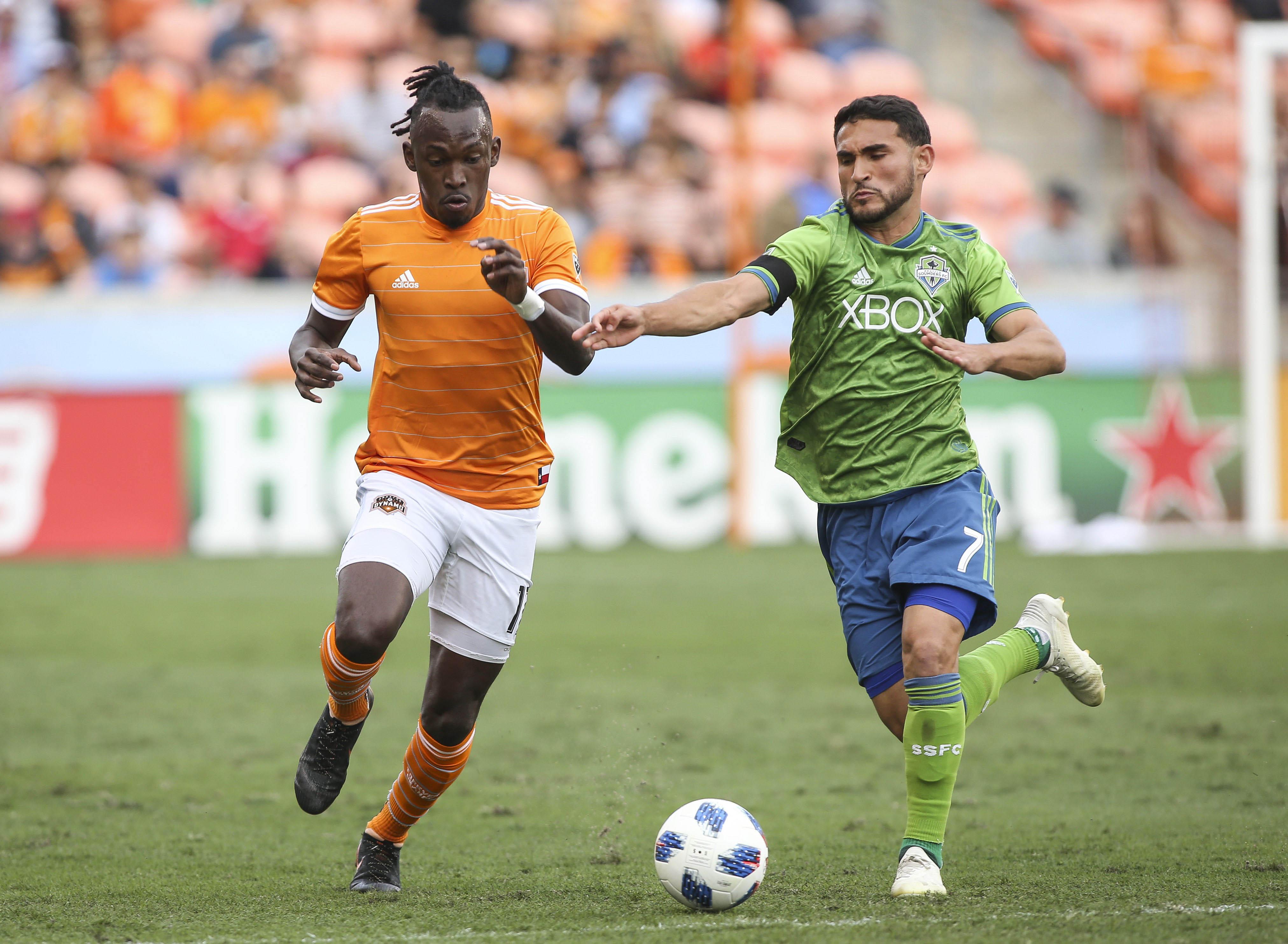MLS: Seattle Sounders at Houston Dynamo