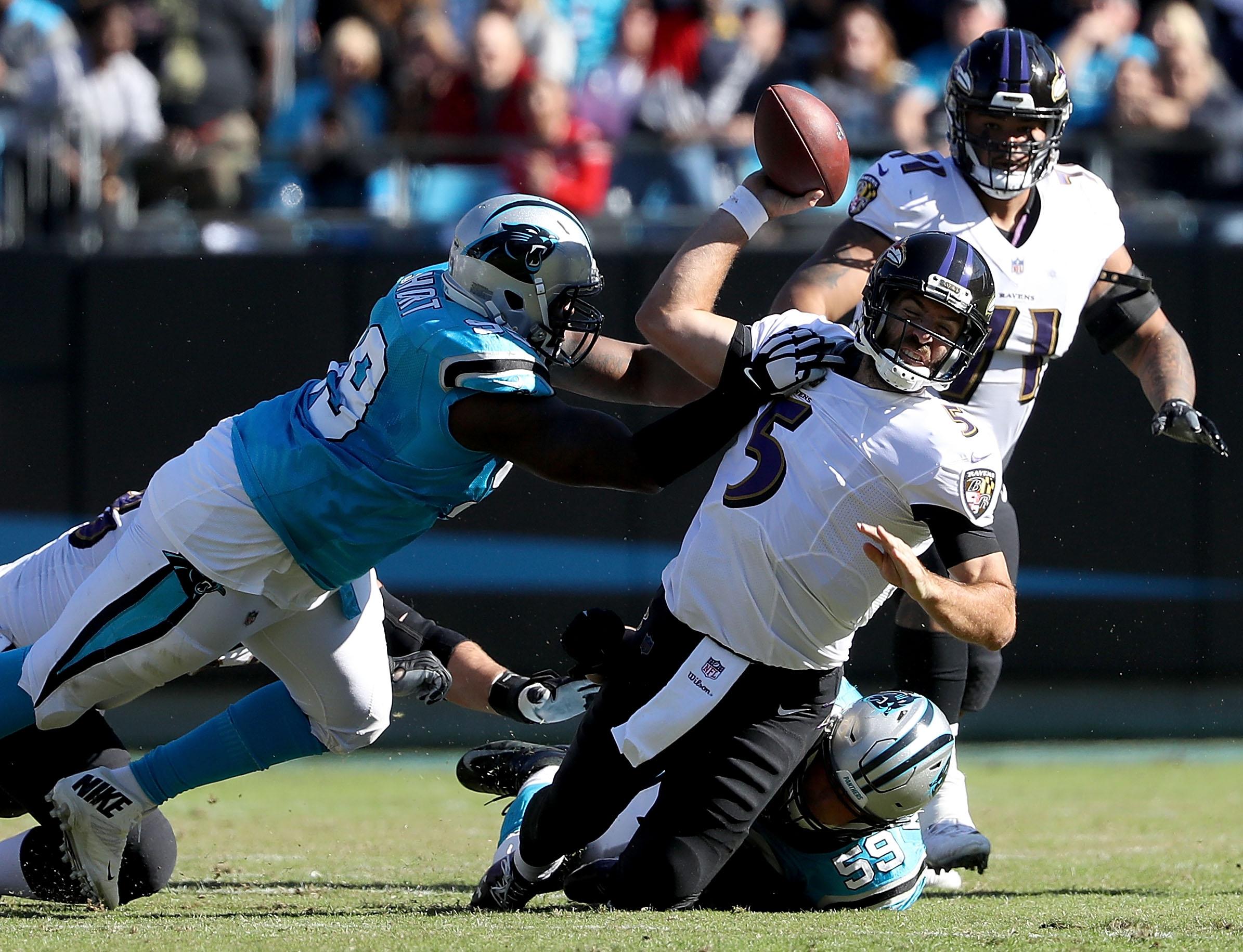 Baltimore Ravens v Carolina Panthers