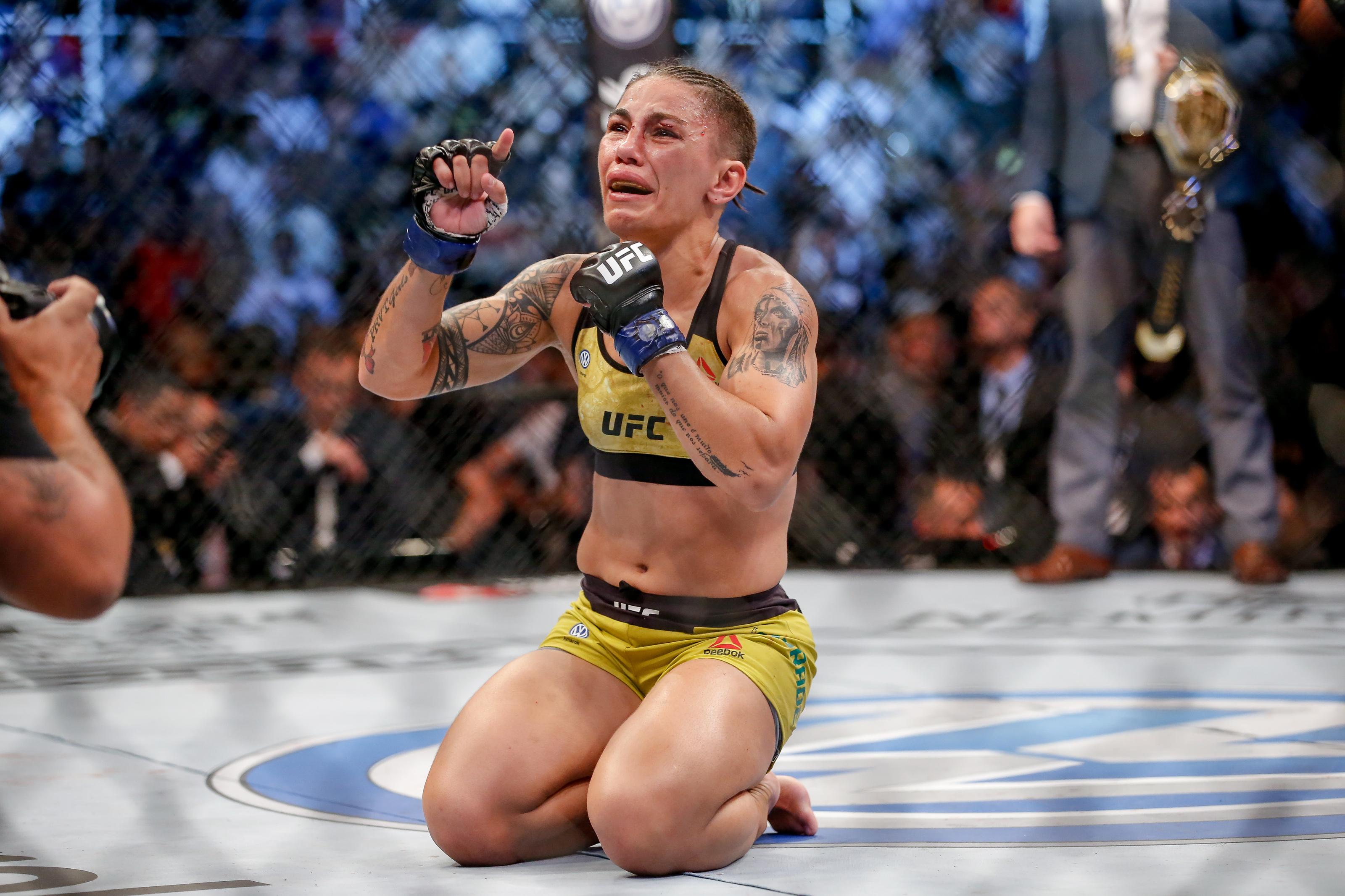 UFC 237: Namajunas v Andrade