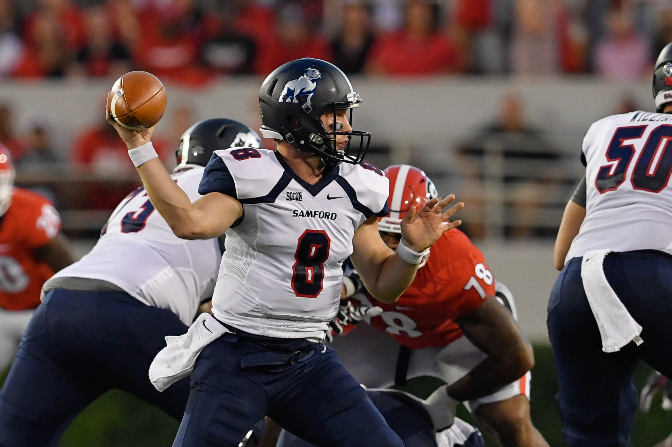NCAA Football: Samford at Georgia