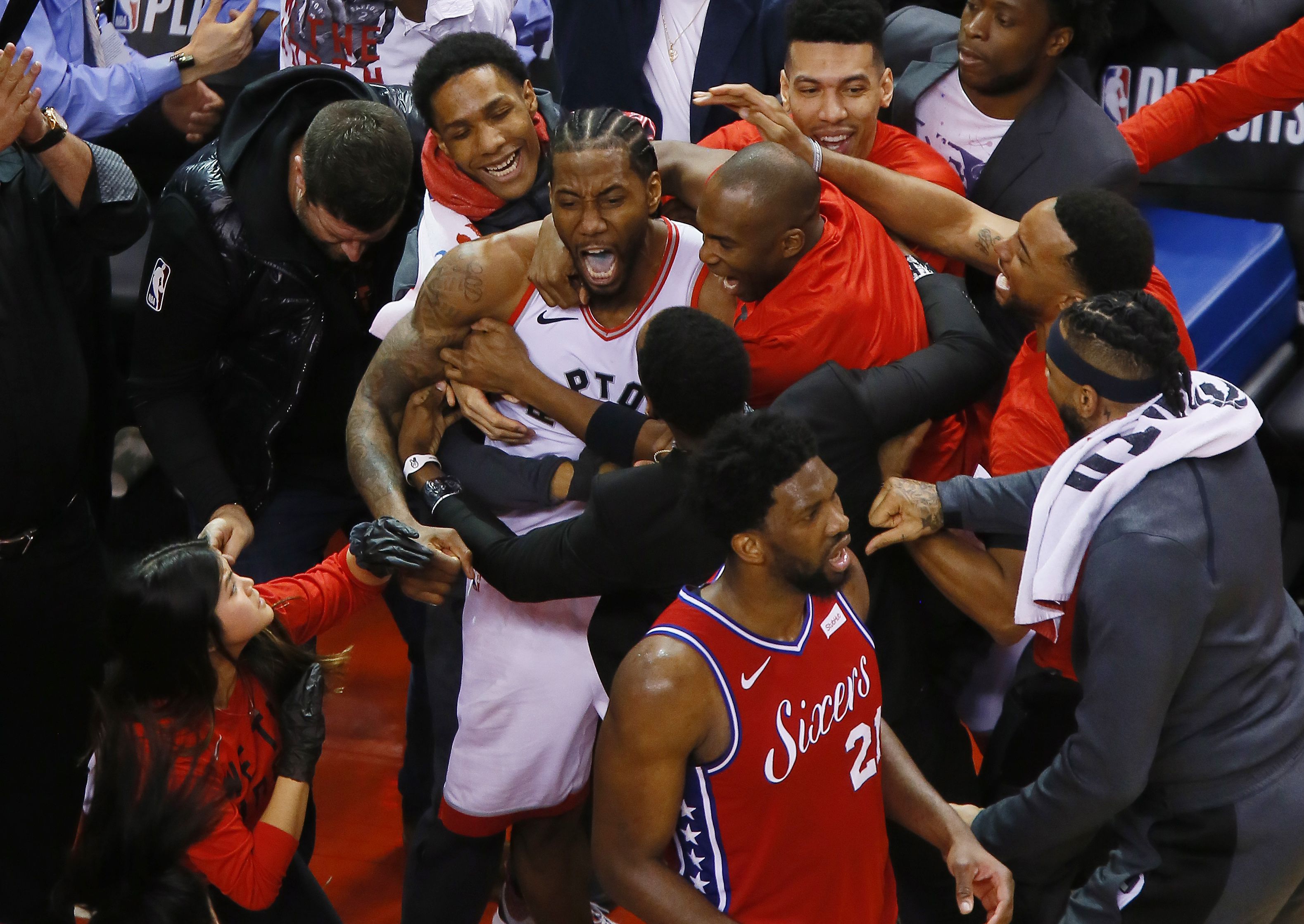 Kawhi Leonard's buzzer beater was the best thing that's ever happened to the Raptors