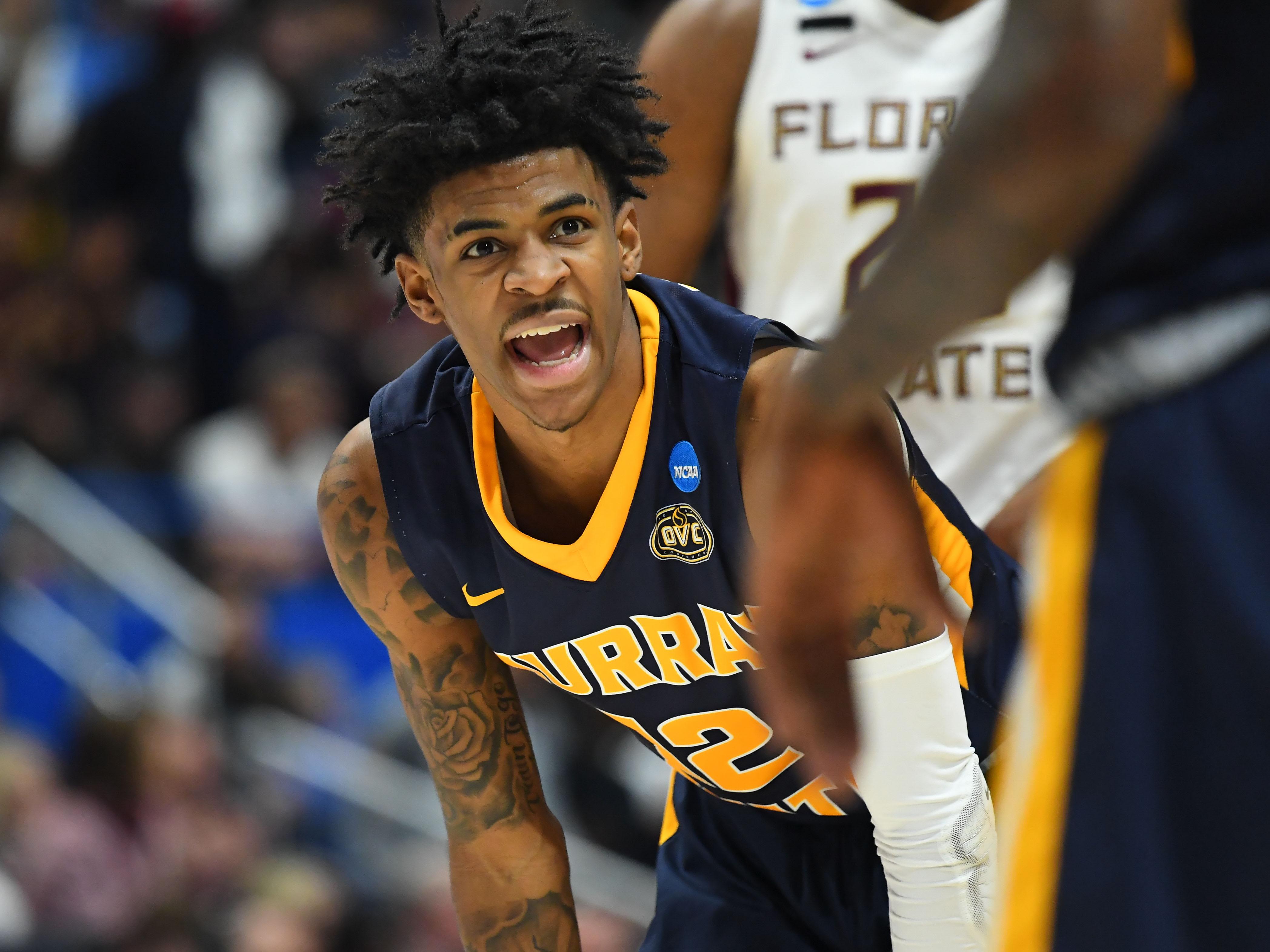 "21e2e79c2ca5 Grizzlies ""win"" 2019 NBA Draft Lottery"