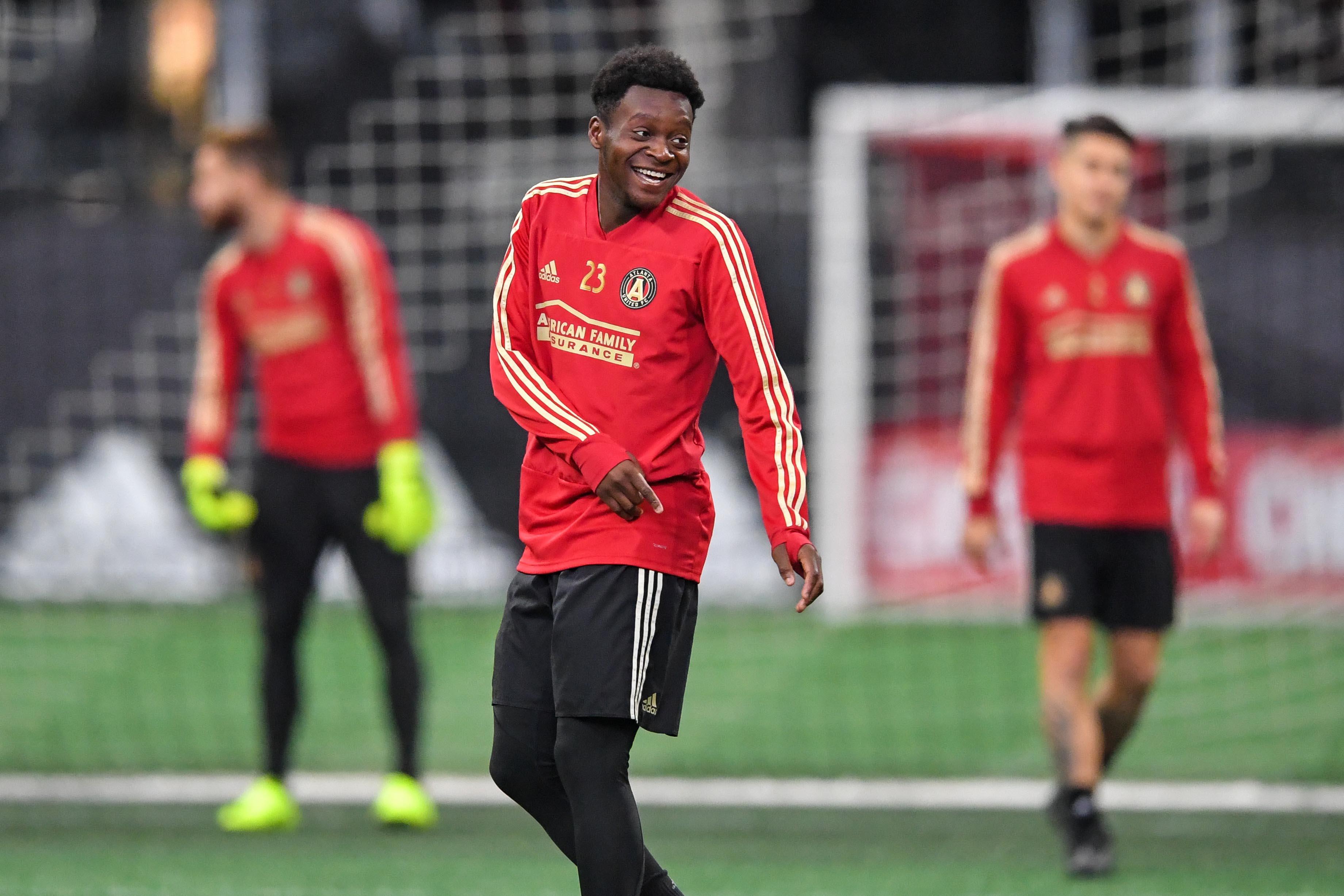 MLS: MLS Cup-Team Training