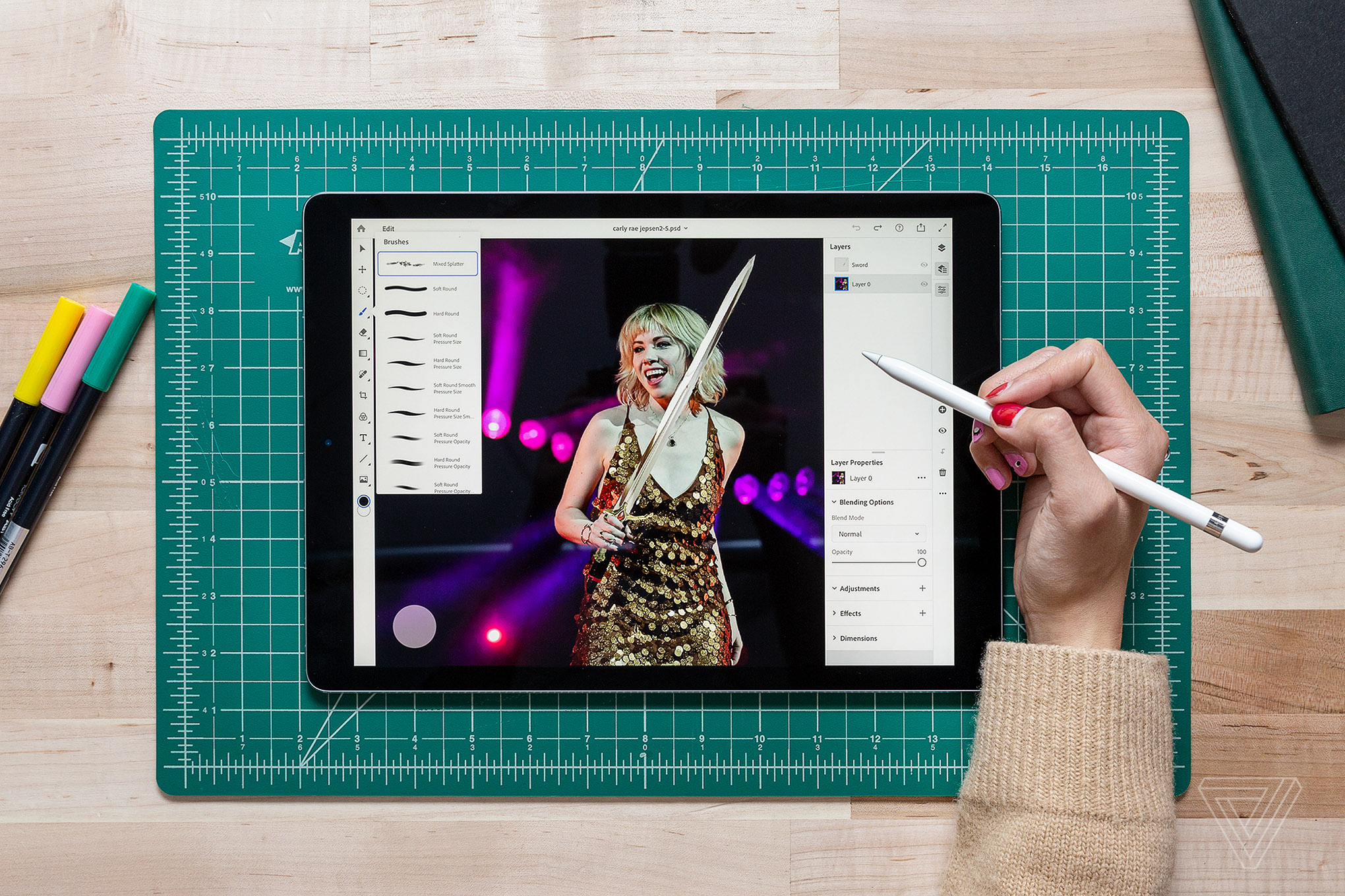 Adobe's Photoshop for the iPad is taking beta test applications
