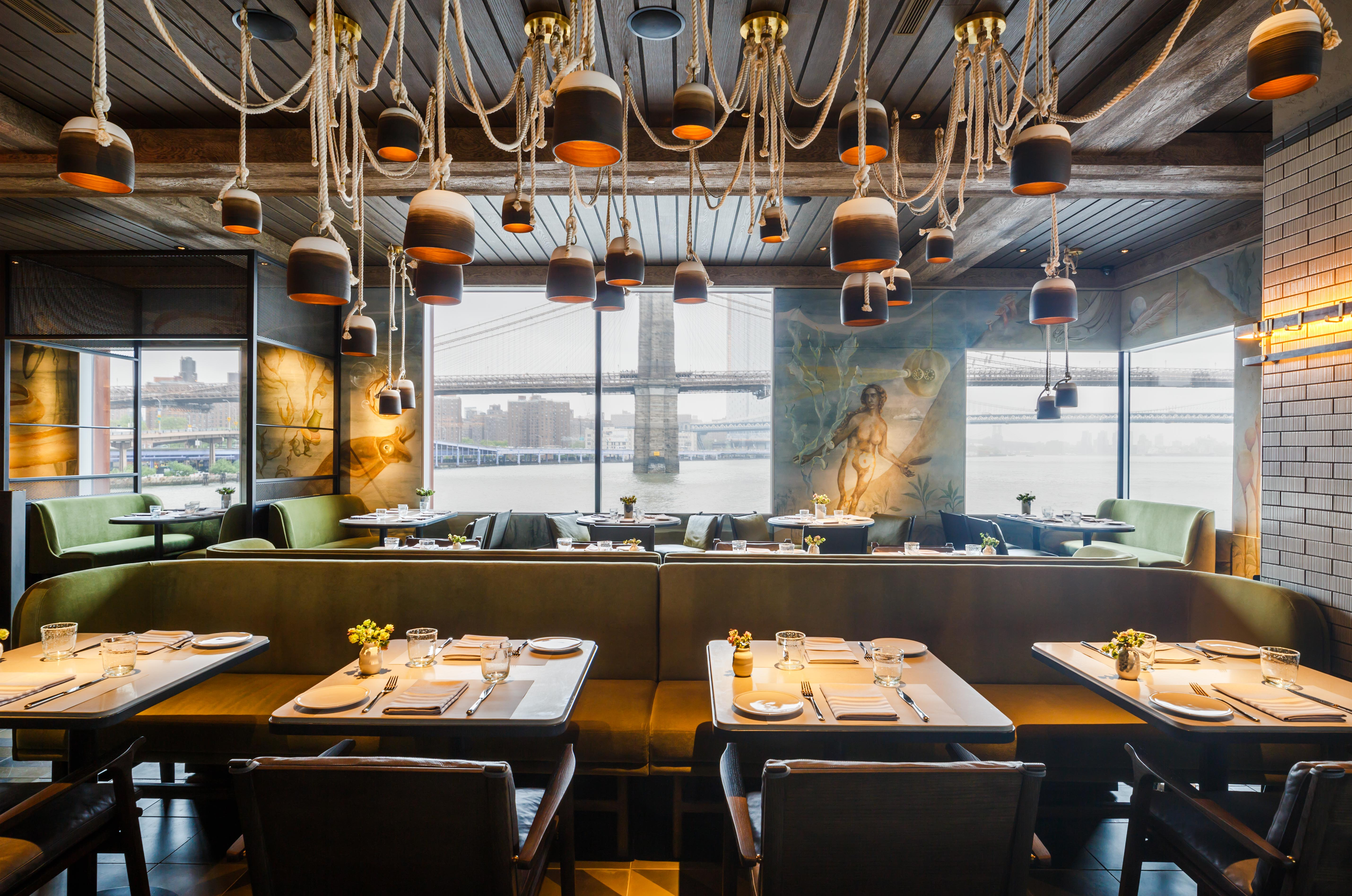 Jean-Georges Vongerichten's Ode to Seafood Debuts on the Water Tonight
